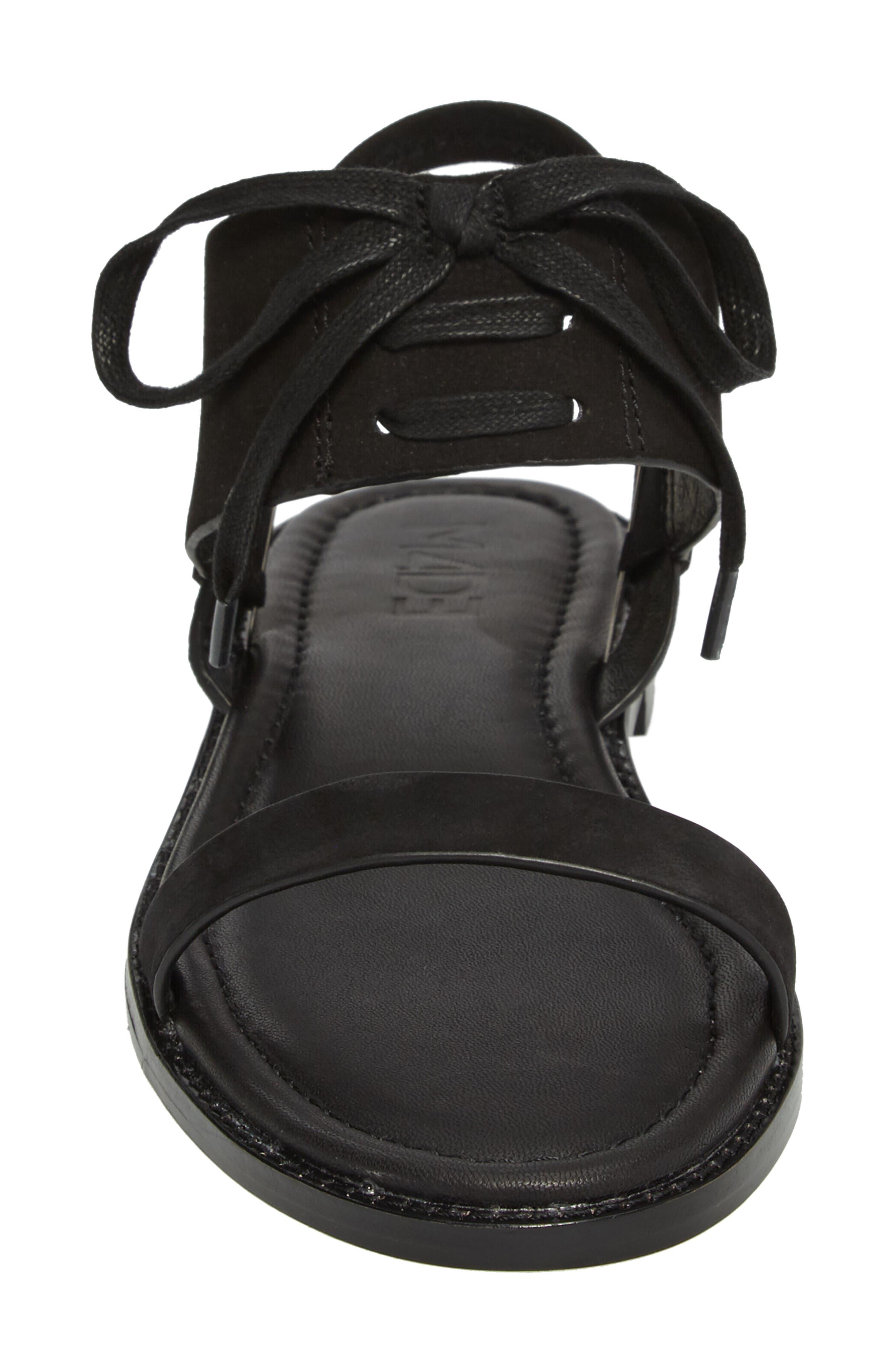M4D3 Hailey Slingback Sandal,                             Alternate thumbnail 4, color,                             001