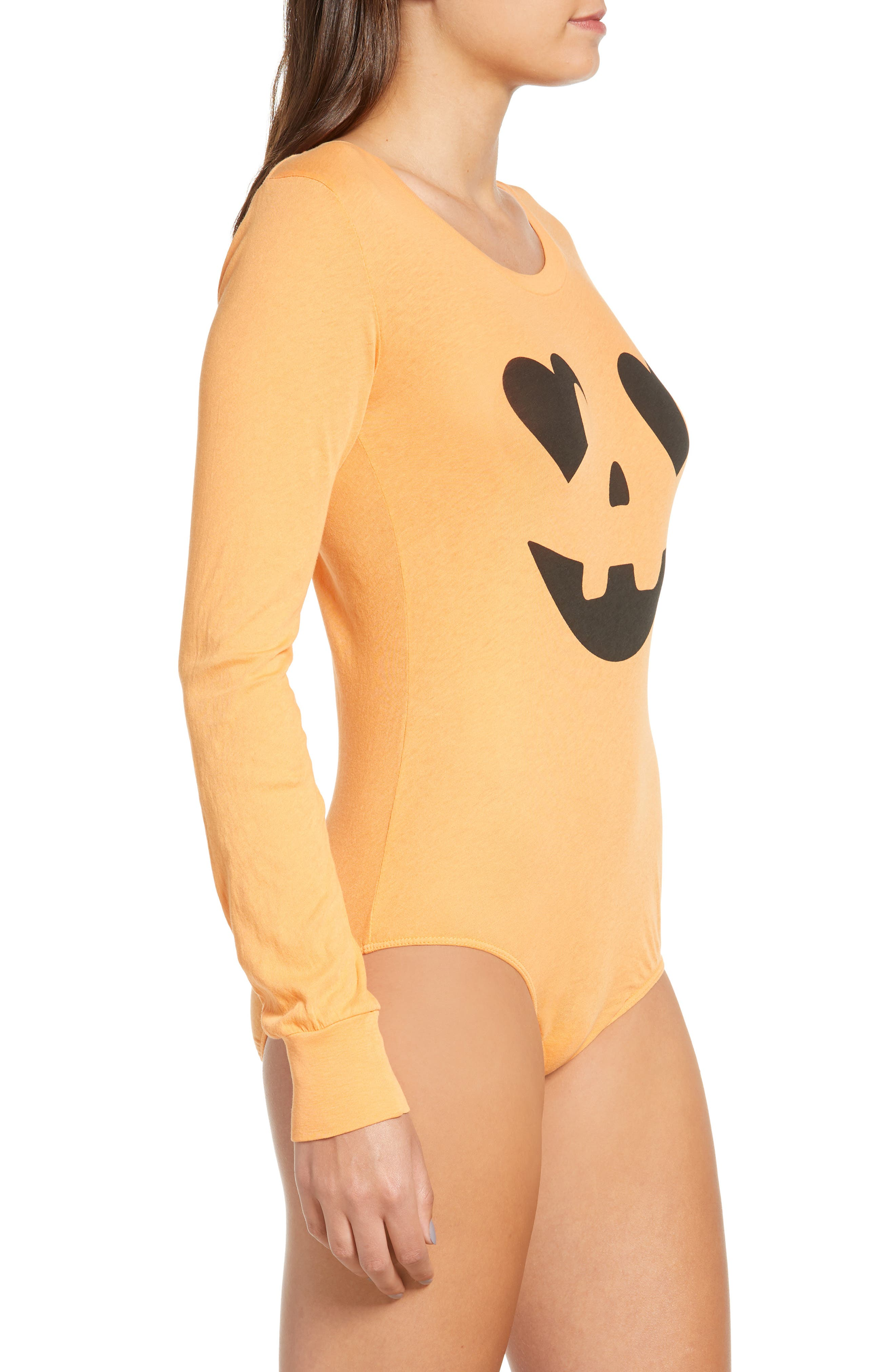 WILDFOX,                             Jack O' Heart Bodysuit,                             Alternate thumbnail 4, color,                             820