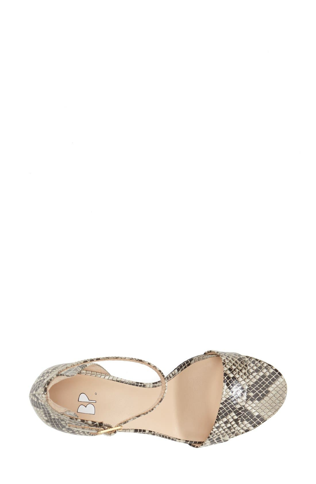 'Luminate' Open Toe Dress Sandal,                             Alternate thumbnail 162, color,