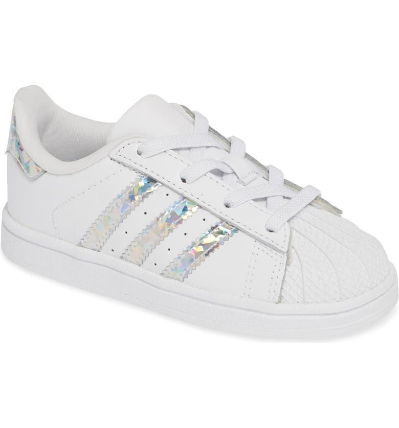half off ae980 30cc7 ADIDAS  Superstar II  Sneaker, Main, color, WHITE  WHITE  WHITE