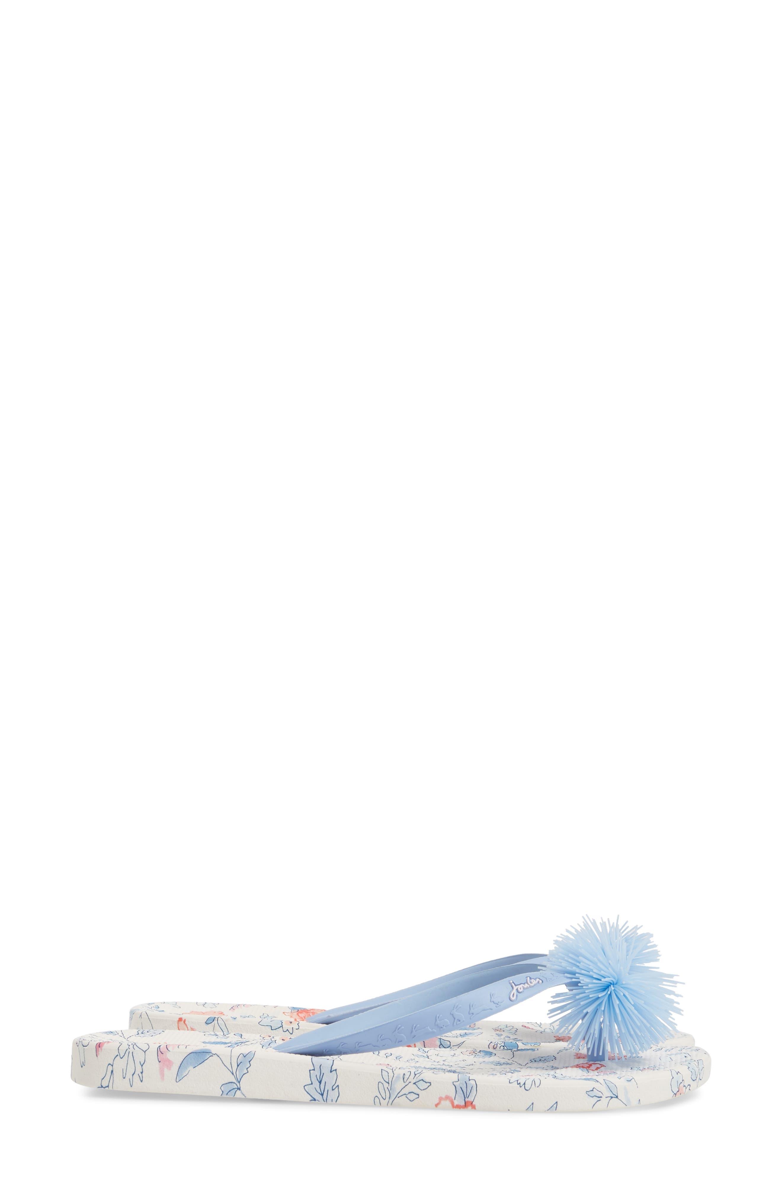 Embellished Flip Flop,                             Alternate thumbnail 4, color,                             107