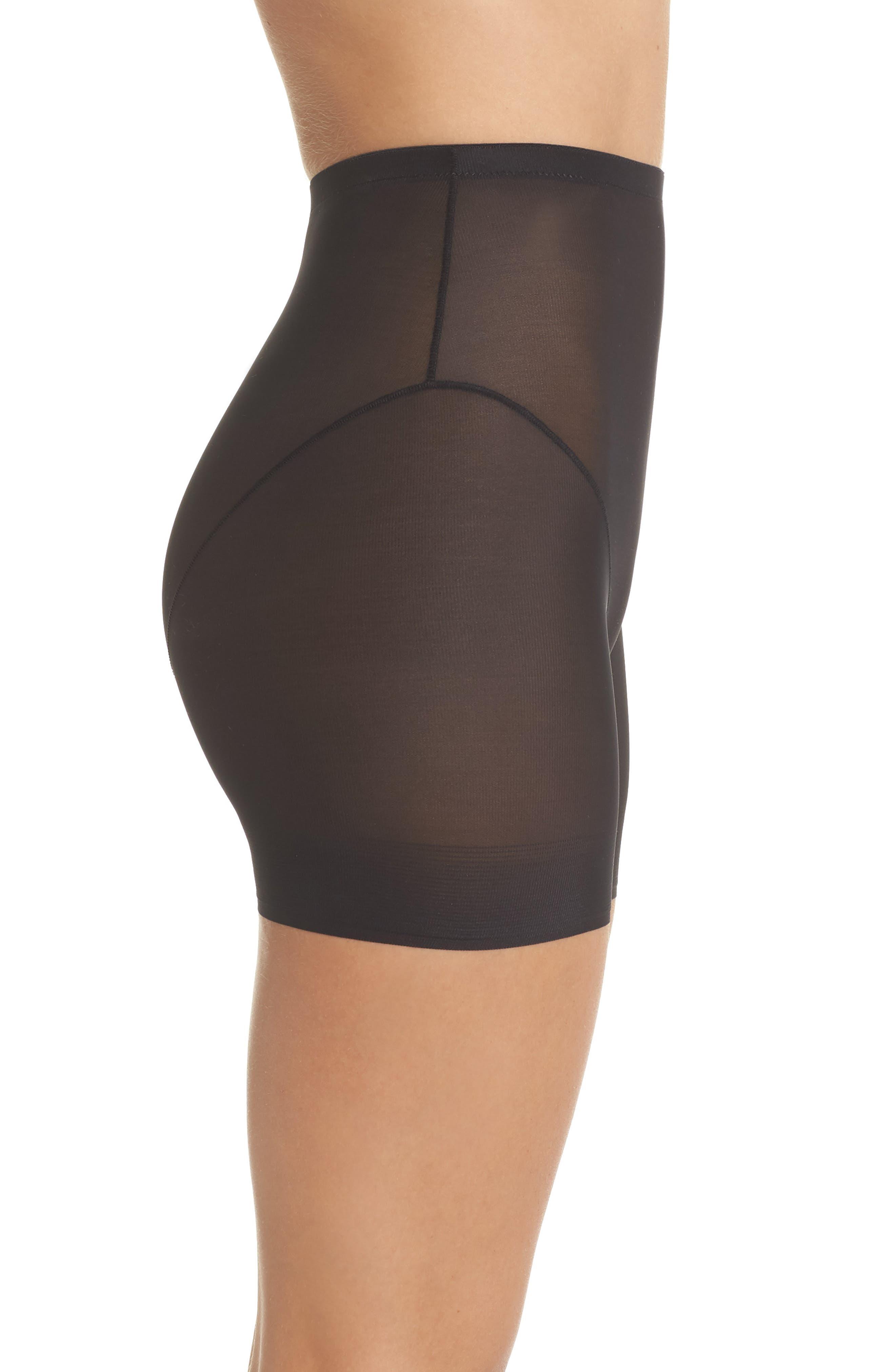 Luxury Lite Shaper Shorts,                             Alternate thumbnail 3, color,                             001