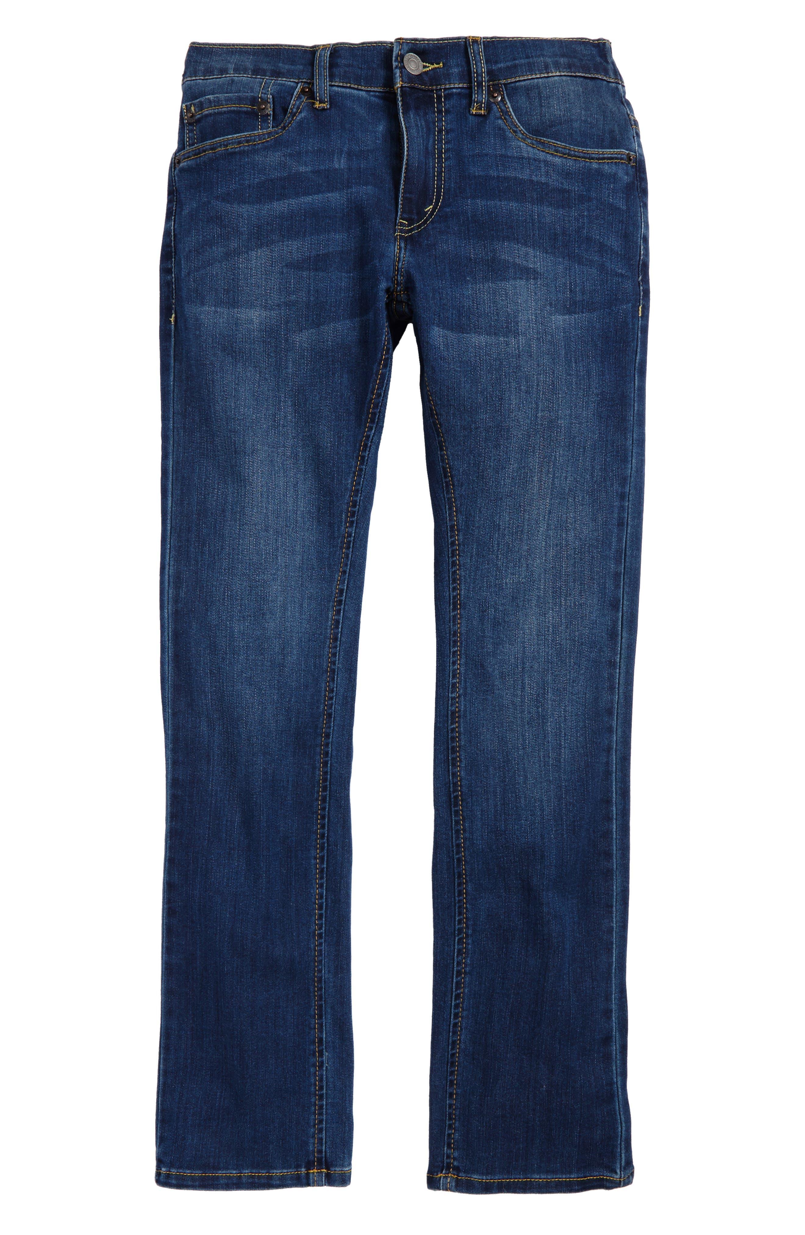 Comfort Slim Fit Straight Leg Jeans,                             Main thumbnail 2, color,