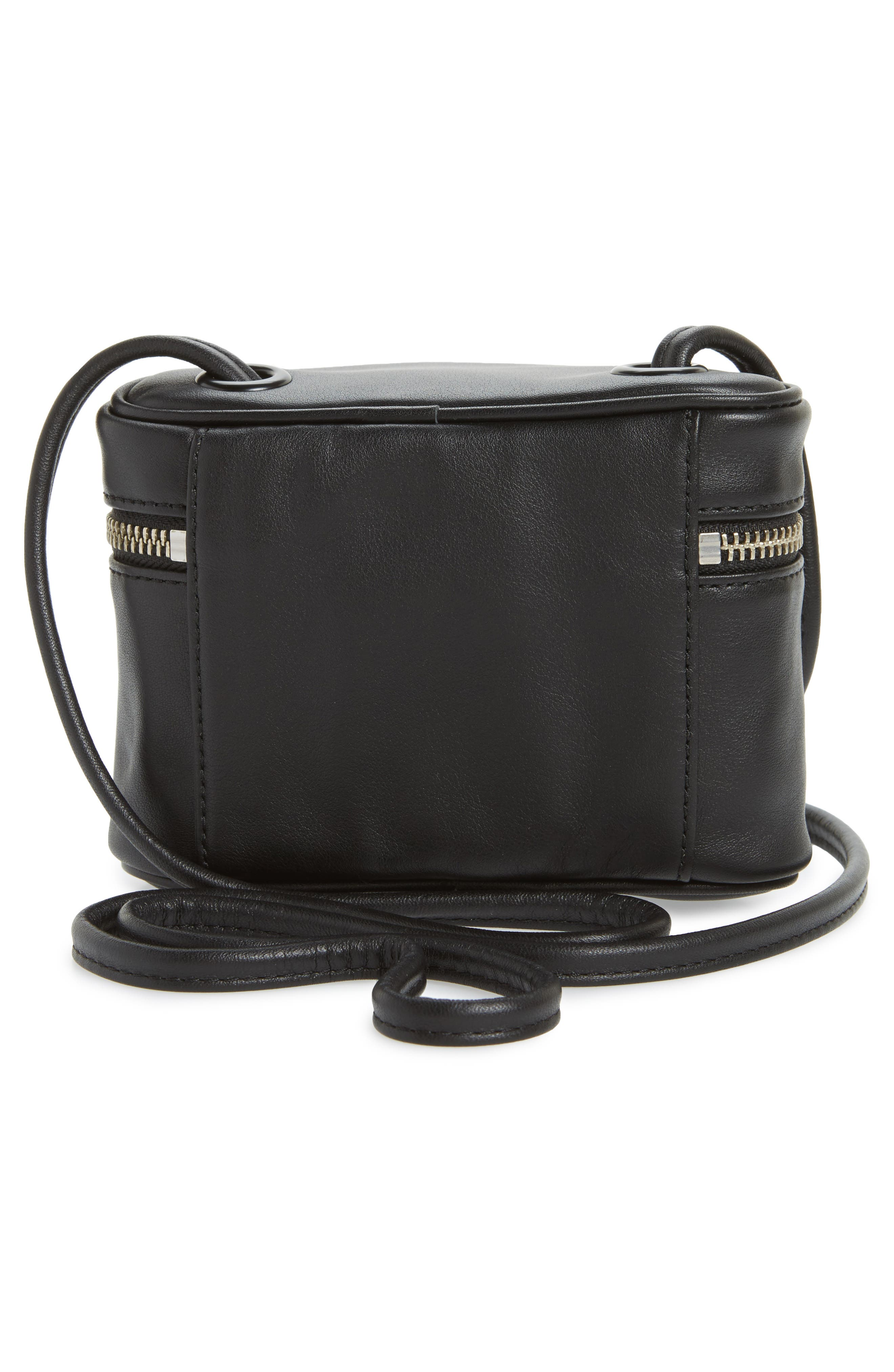 Greenwood Autumn Leather Crossbody Bag,                             Alternate thumbnail 3, color,                             001