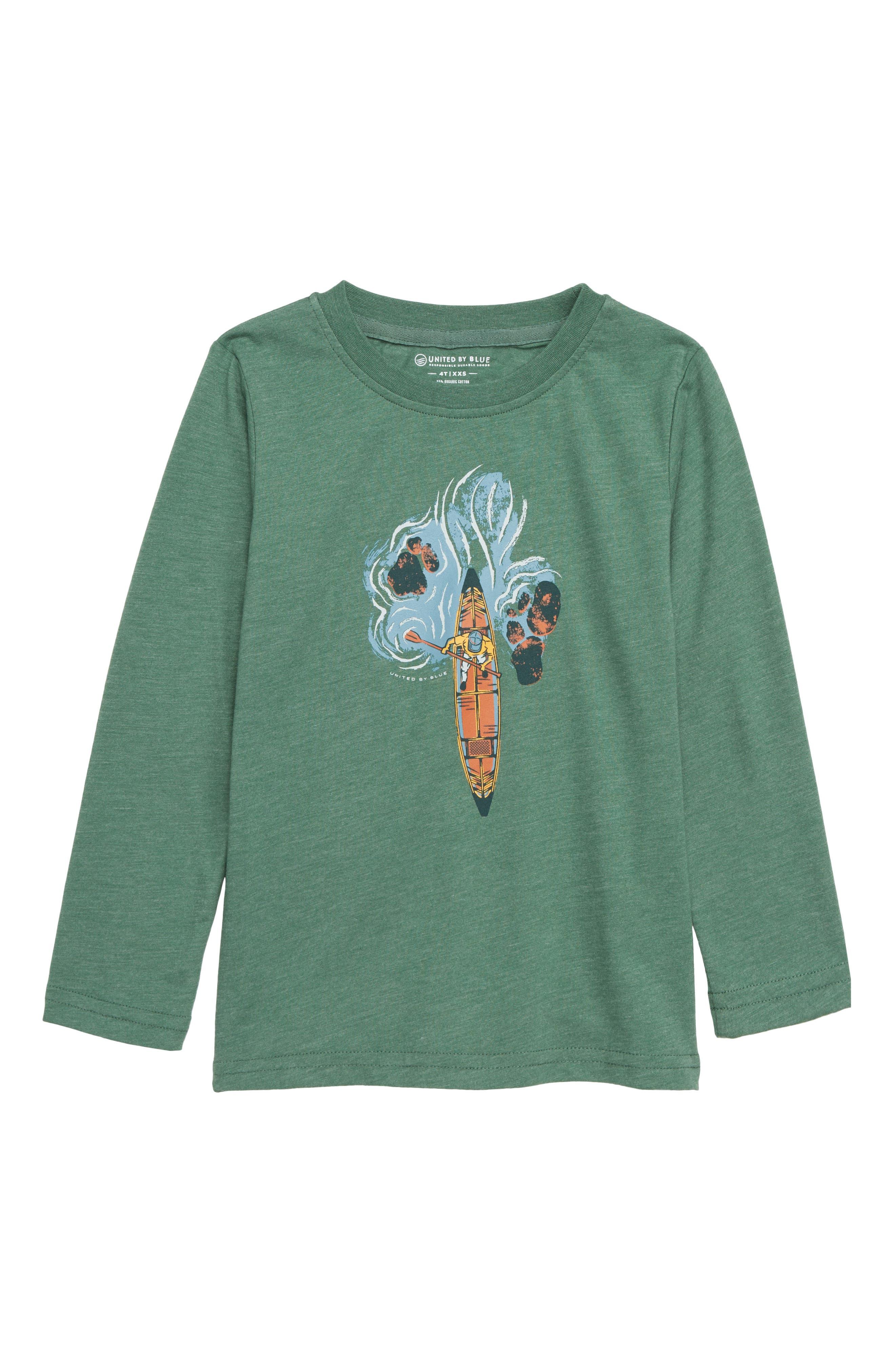 Bird's Eye Canoe T-Shirt,                             Main thumbnail 1, color,                             300