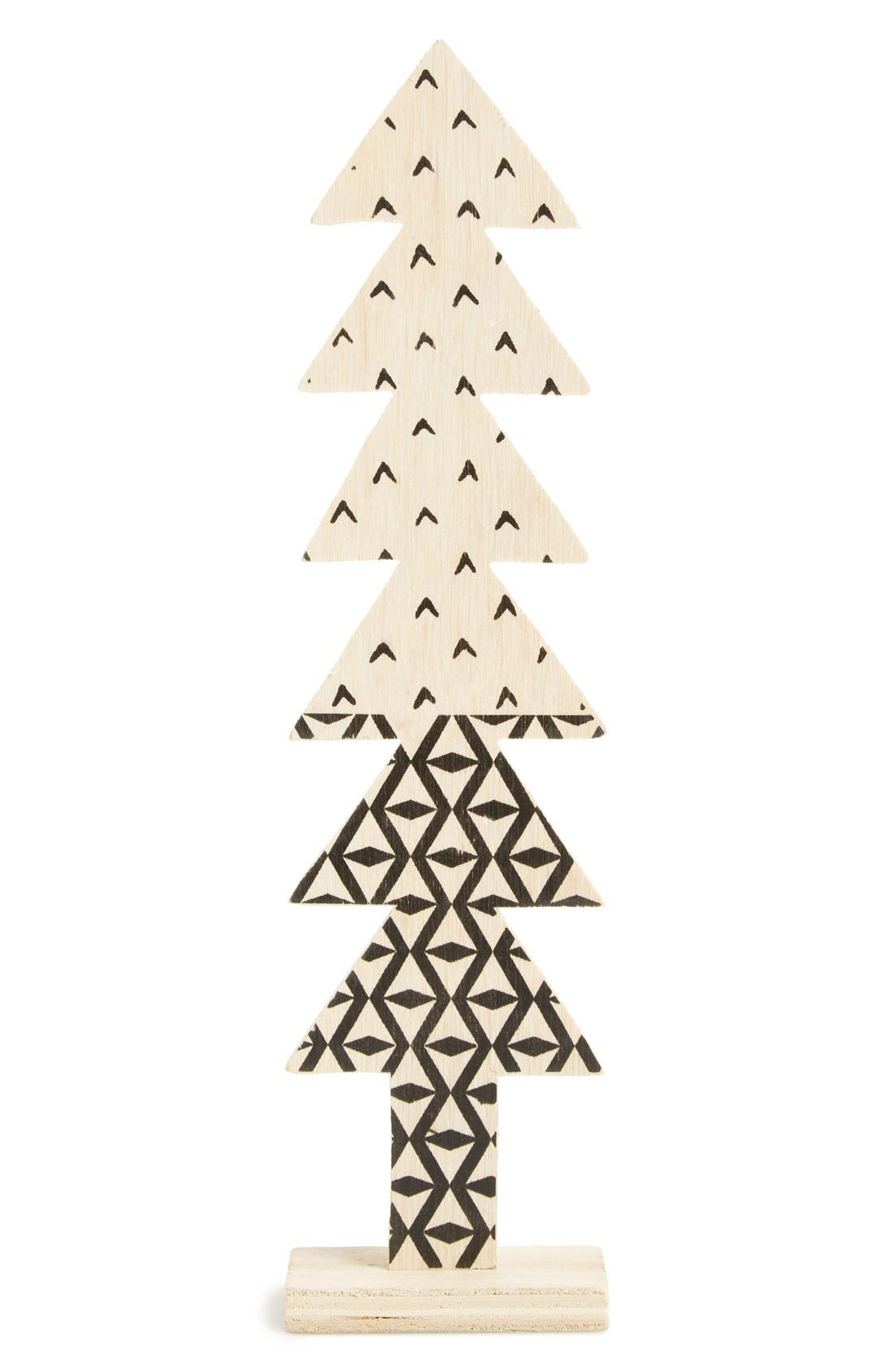 Wooden Christmas Tree Decoration,                             Alternate thumbnail 3, color,