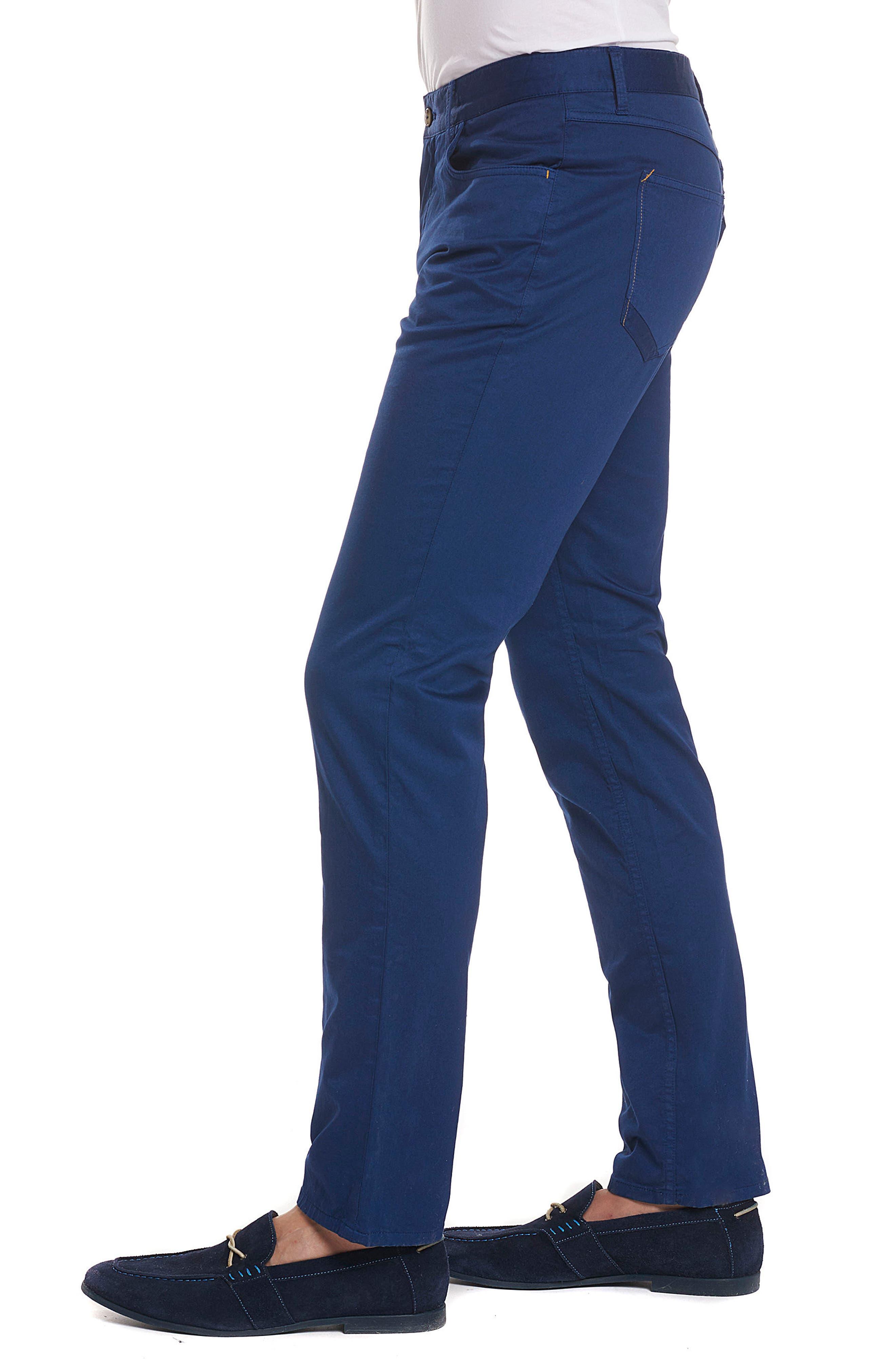 Marti Tailored Fit Pants,                             Alternate thumbnail 3, color,                             BLUE