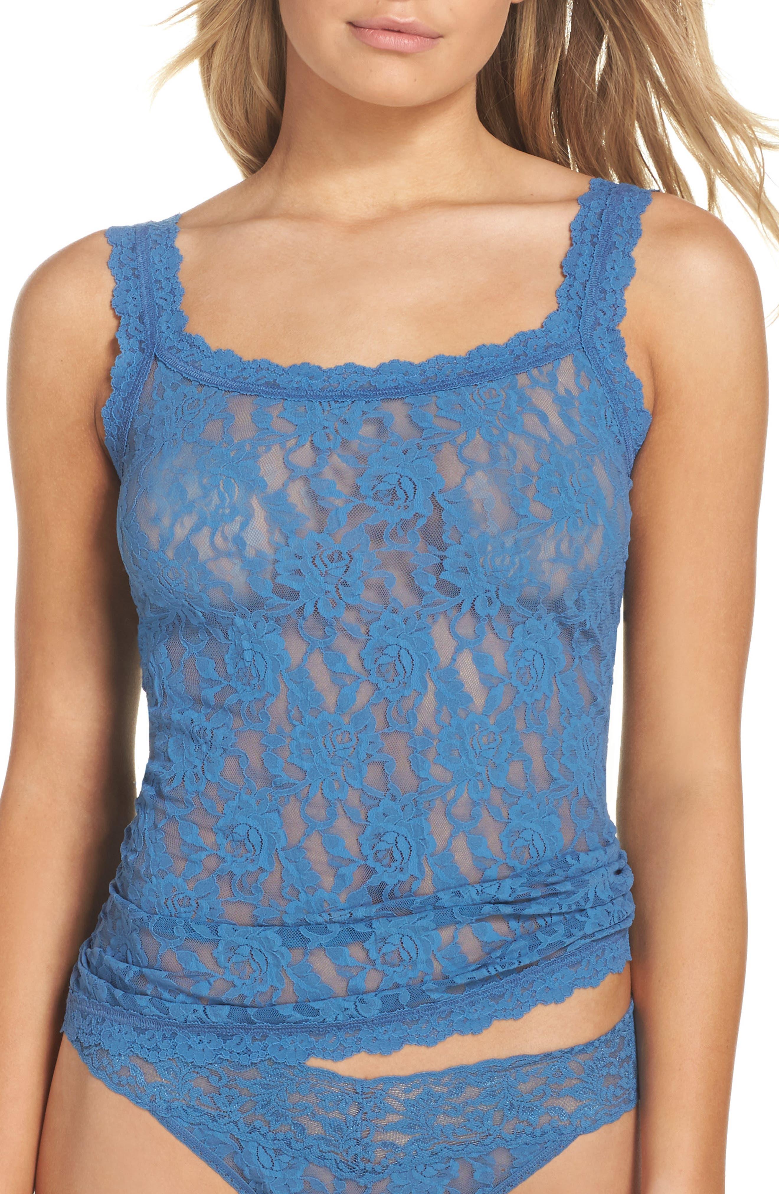 'Signature Lace' Camisole,                         Main,                         color, 401