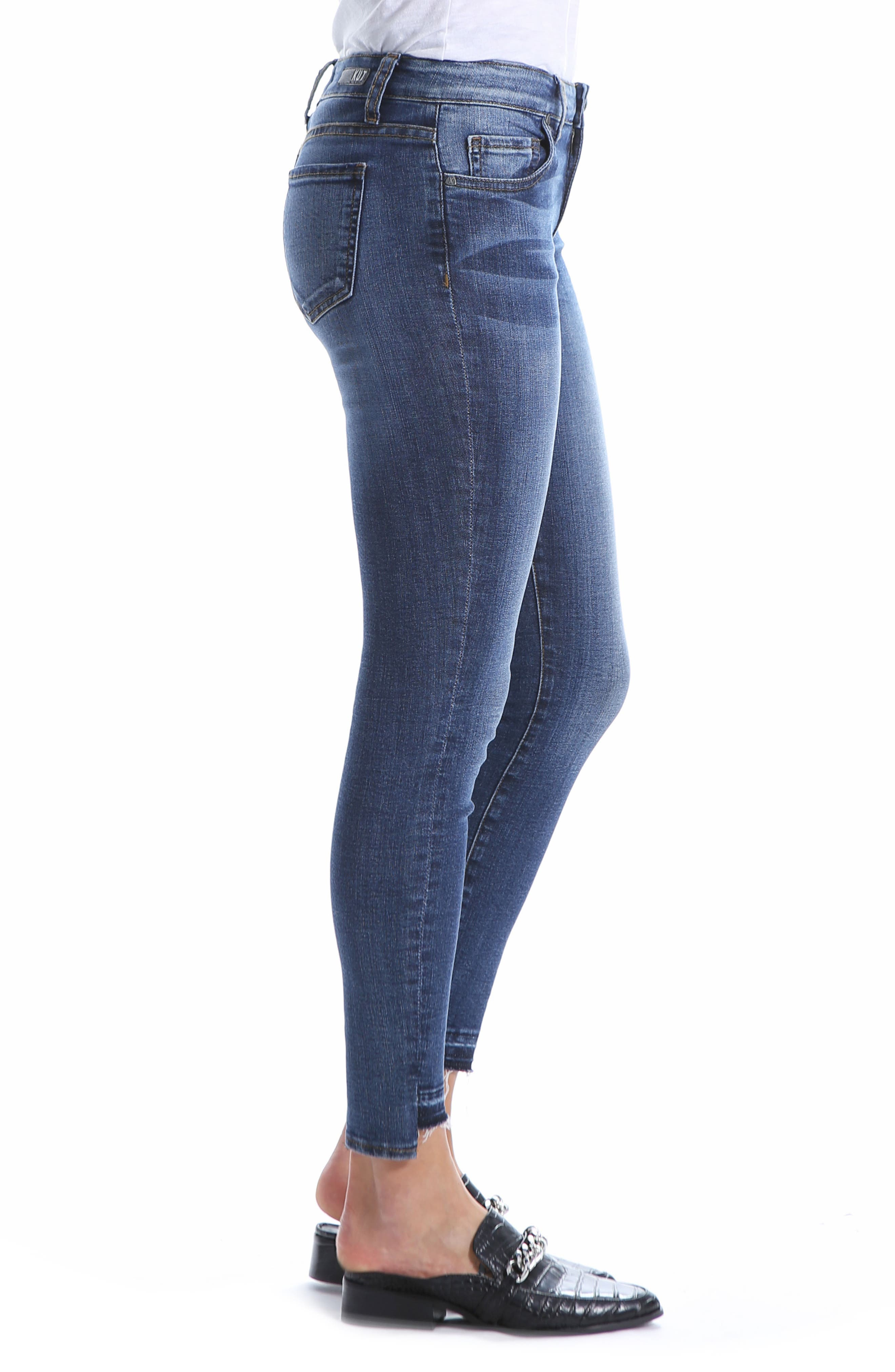 Connie Ankle Skinny Jeans,                             Alternate thumbnail 3, color,                             EMPATHIC