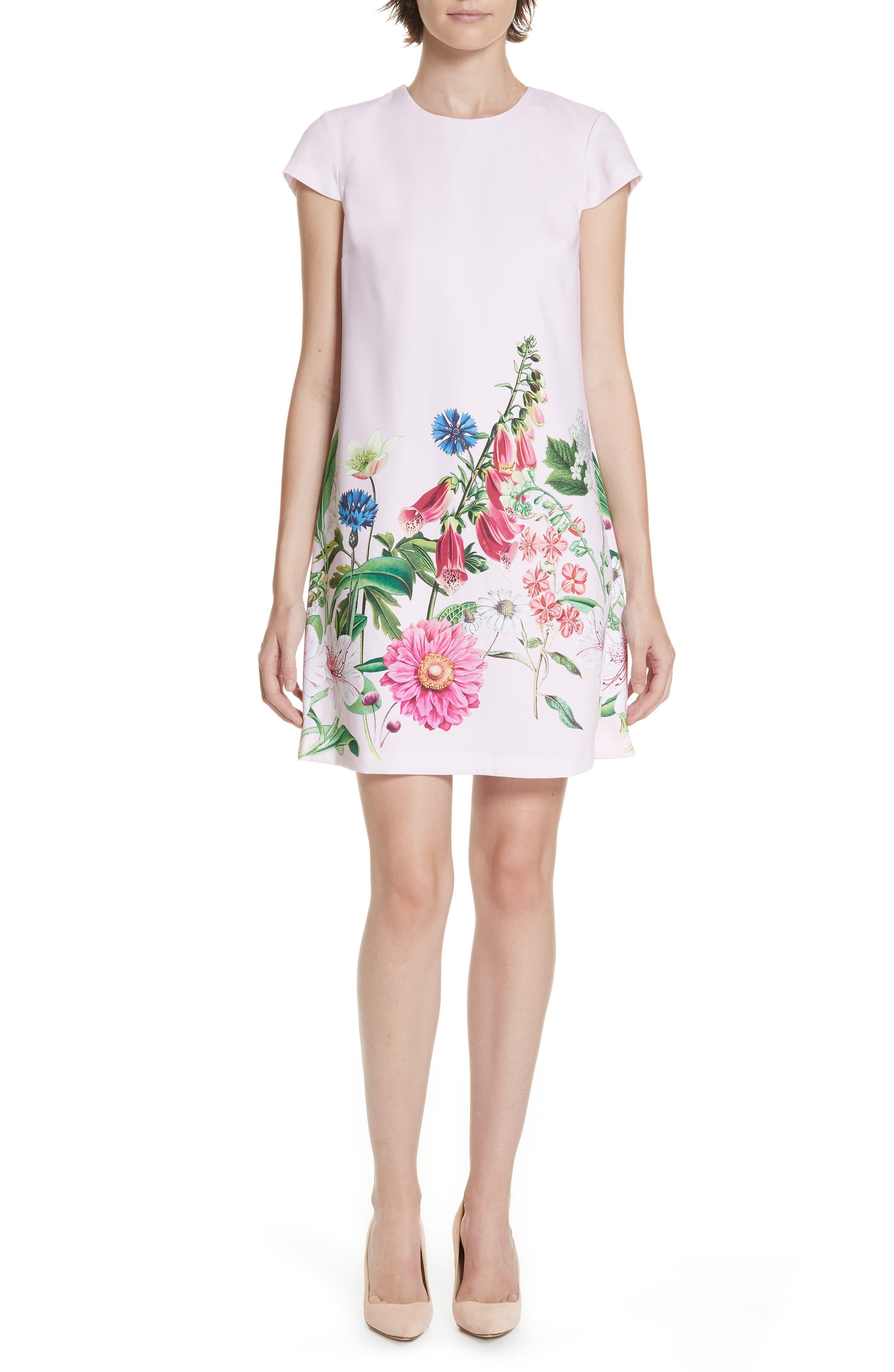 Gemmma Swing Dress,                         Main,                         color, 660