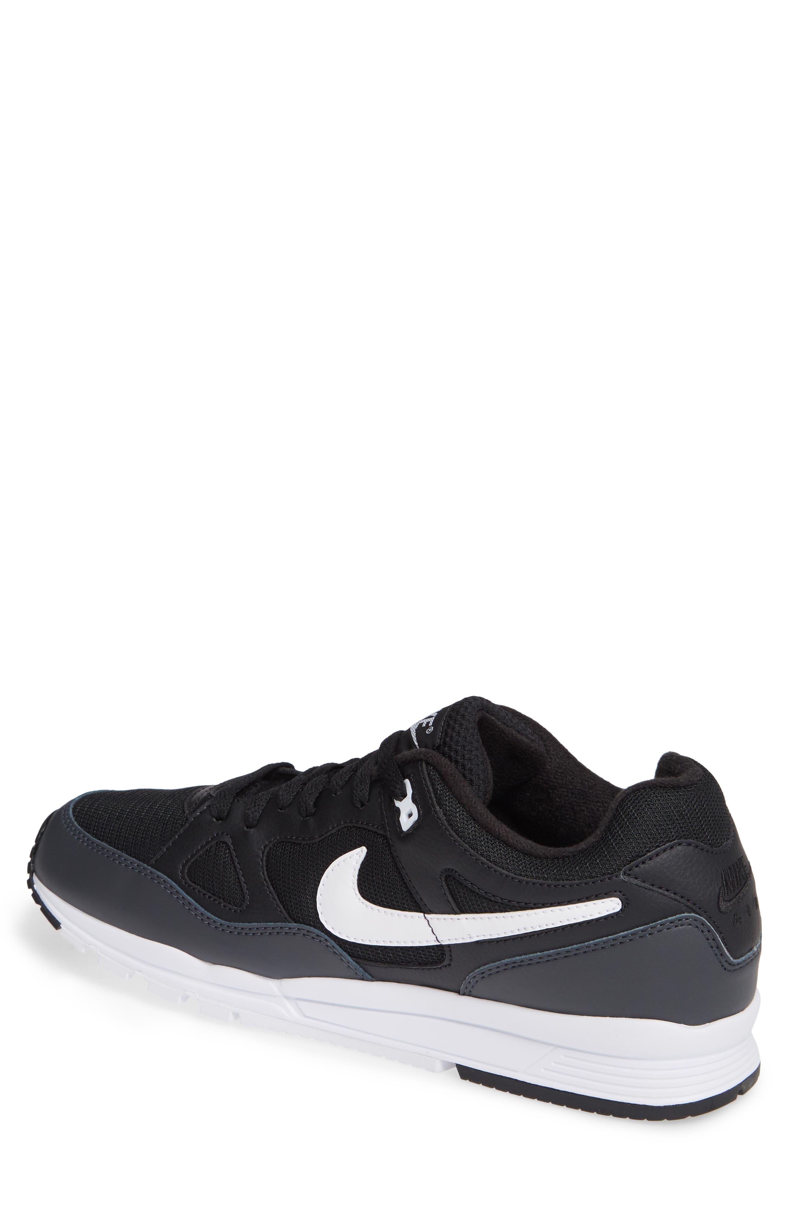Air Span II Sneaker,                             Alternate thumbnail 2, color,                             BLACK/ WHITE/ ANTHRACITE