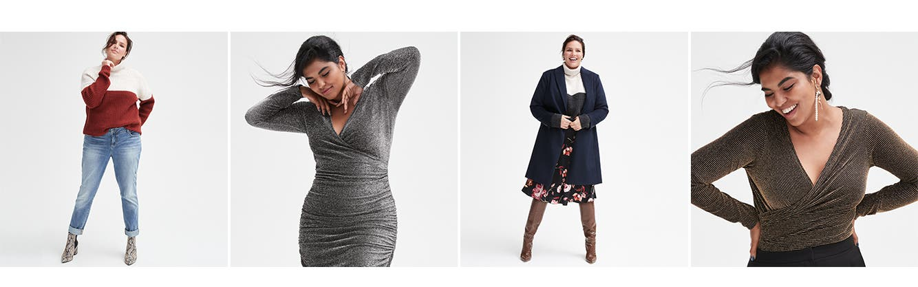 Fall's freshest plus-size clothing.