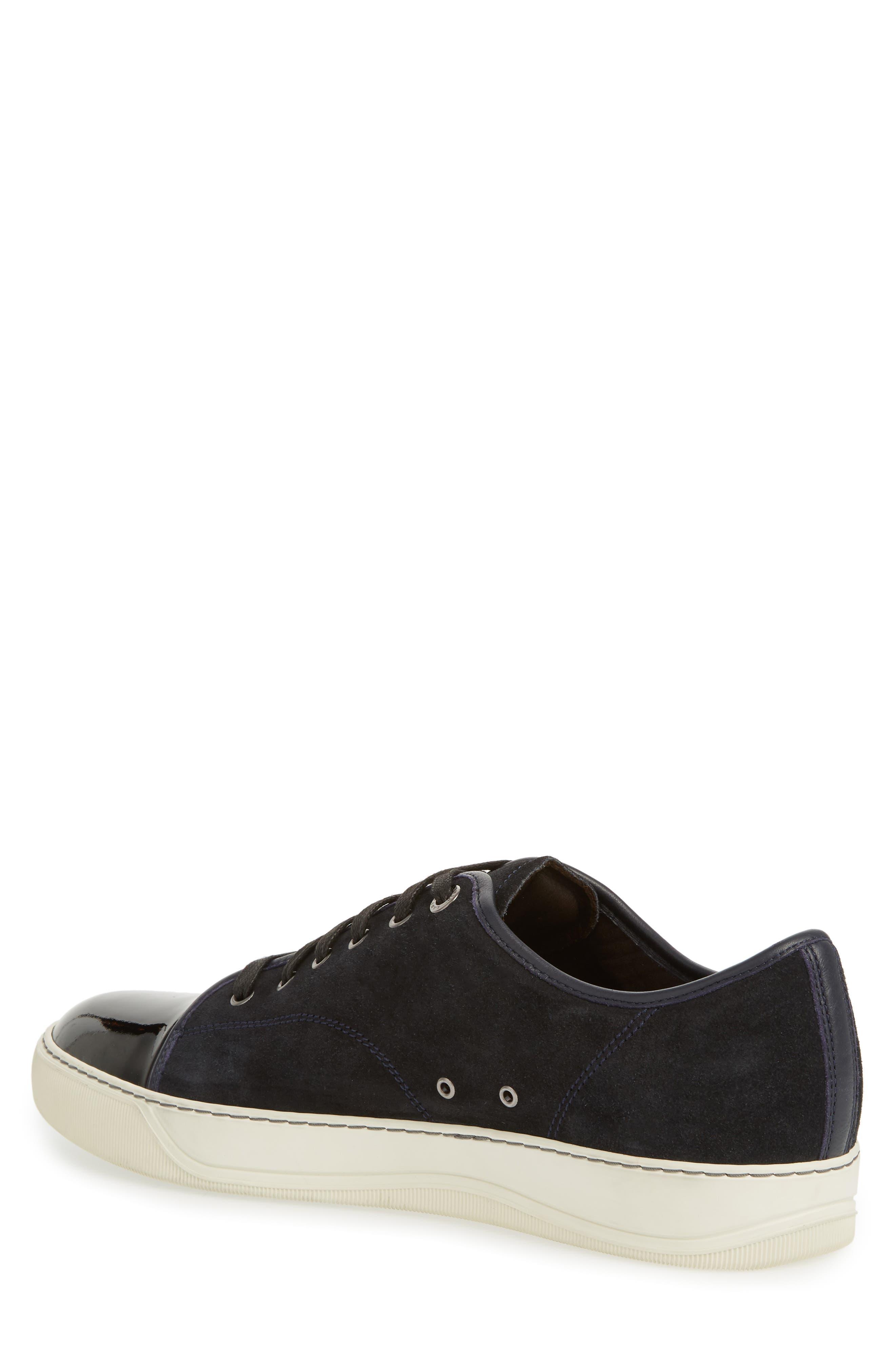 Low Top Suede Sneaker,                             Alternate thumbnail 2, color,                             024