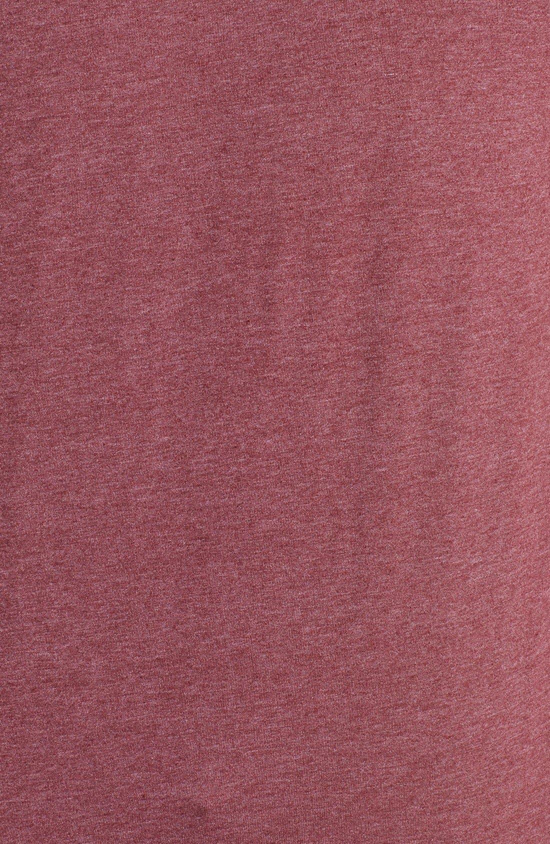 'Fitz Roy Crest' Slim Fit Organic Cotton Blend T-Shirt,                             Alternate thumbnail 31, color,