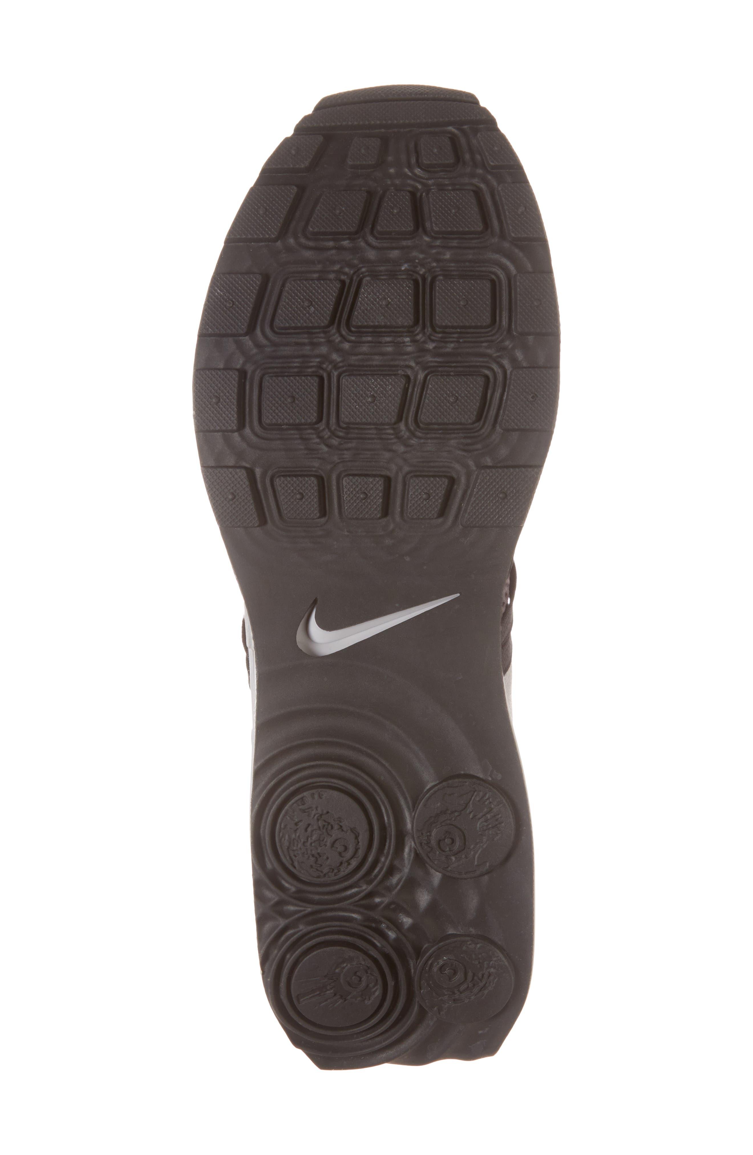 Shox Gravity Sneaker,                             Alternate thumbnail 6, color,                             ATMOSPHERE GREY/ BLACK/ GREY