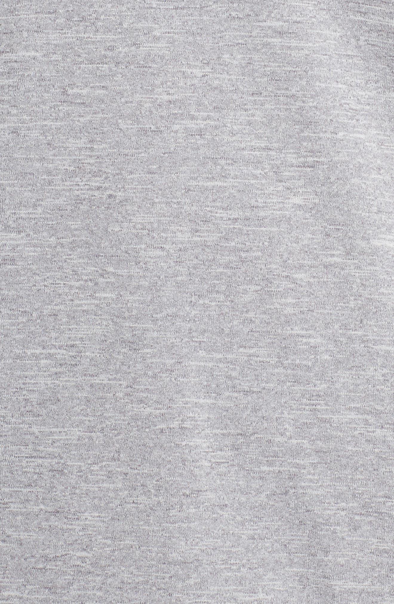 Therma Sphere Element Running Shirt,                             Alternate thumbnail 6, color,                             GUNSMOKE/ HEATHER