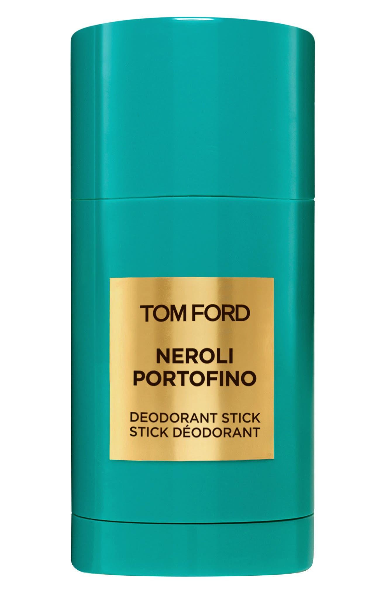 TOM FORD Private Blend Neroli Portofino Deodorant Stick, Main, color, NO COLOR