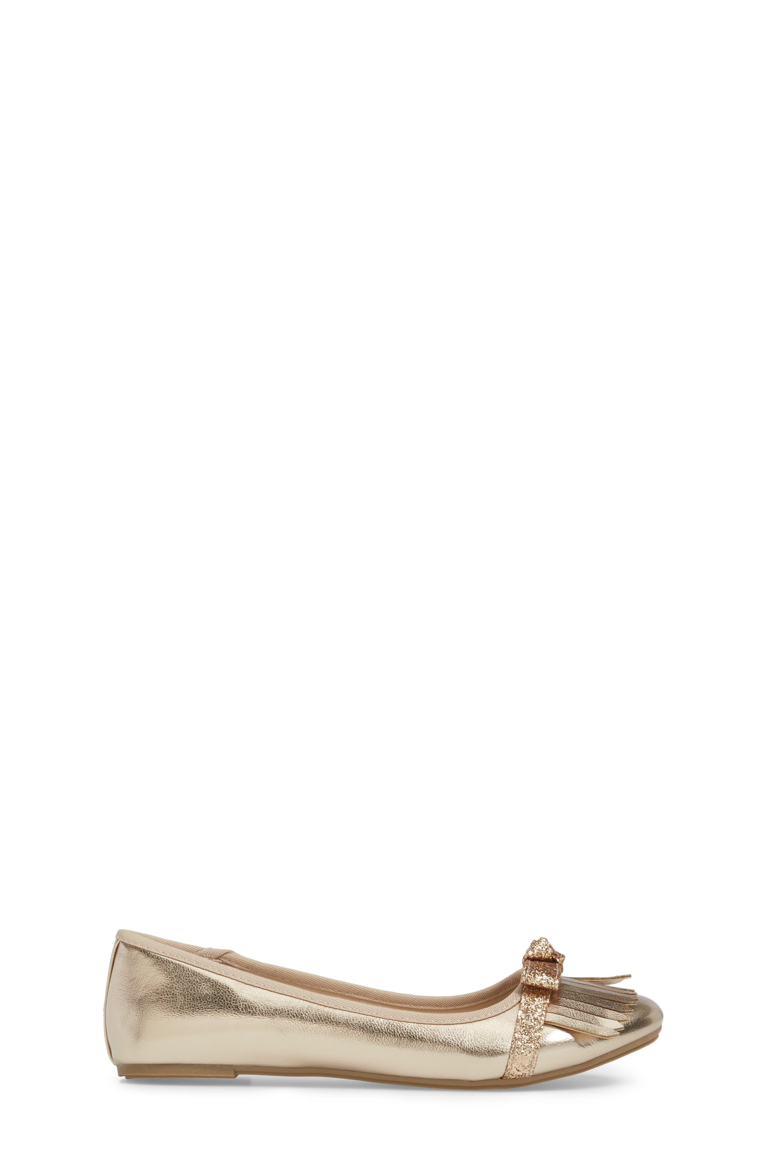 Kenneth Cole Viva Kiltie Flat,                             Alternate thumbnail 3, color,                             220
