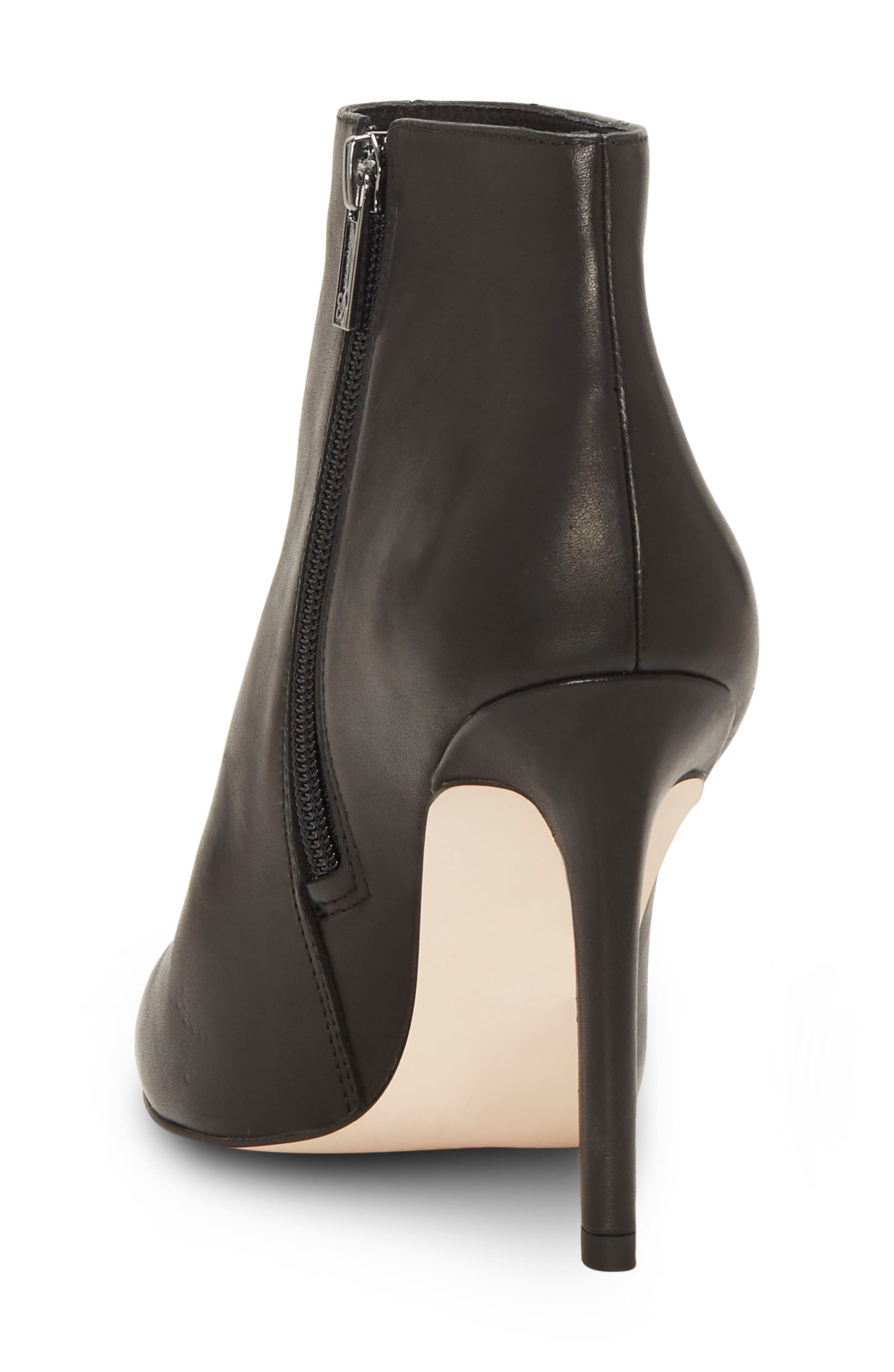 Perci Bootie,                             Alternate thumbnail 2, color,                             BLACK LEATHER
