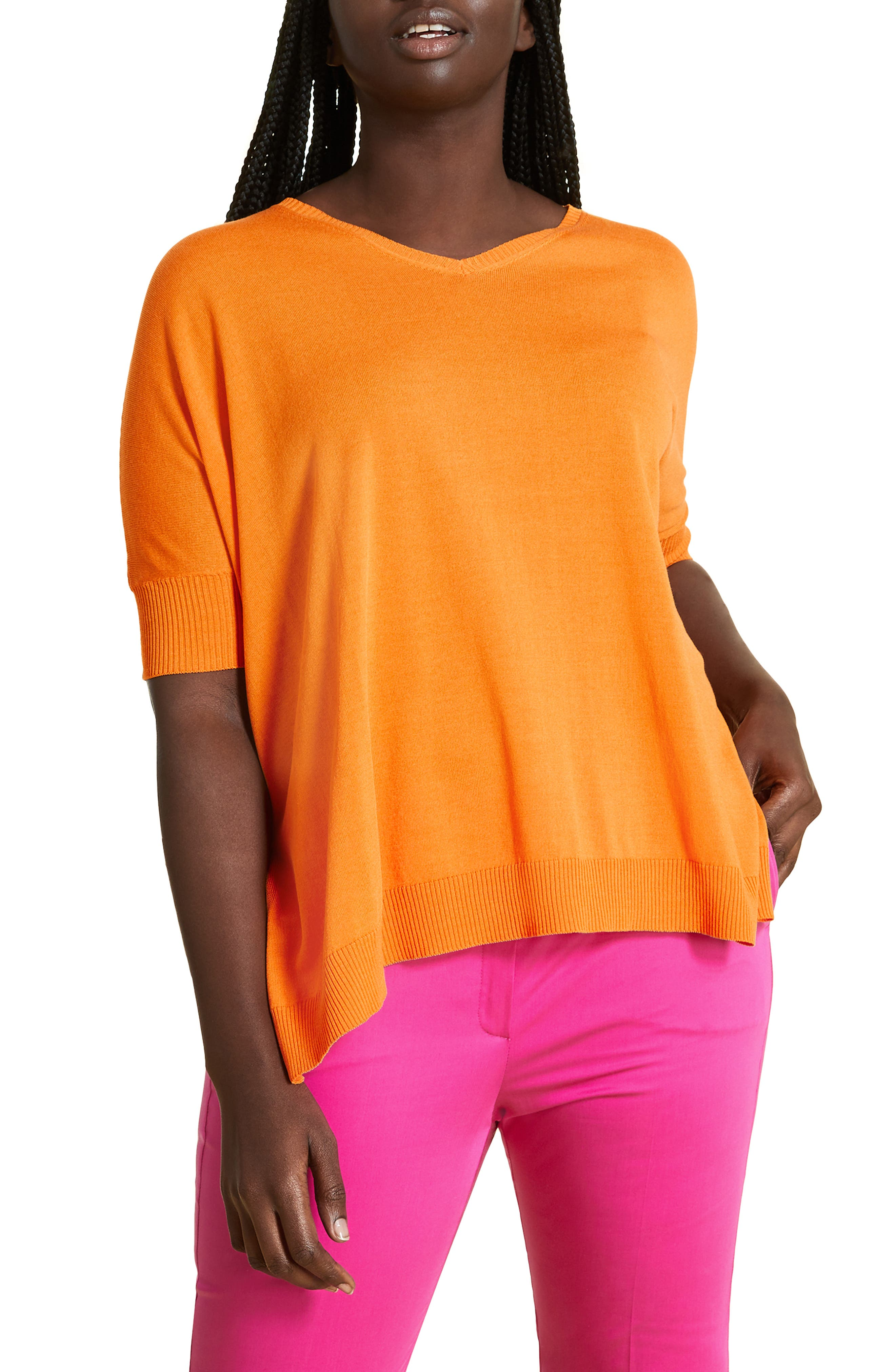 plus size women's marina rinaldi aereo sweater