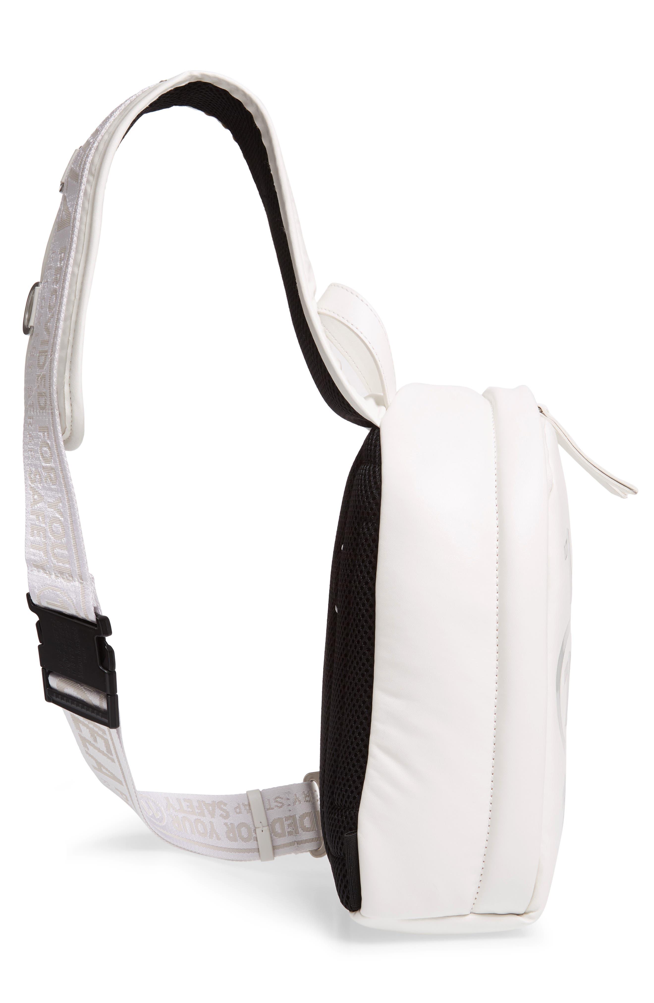 MAISON MARGIELA,                             Mini Backpack,                             Alternate thumbnail 5, color,                             WHITE