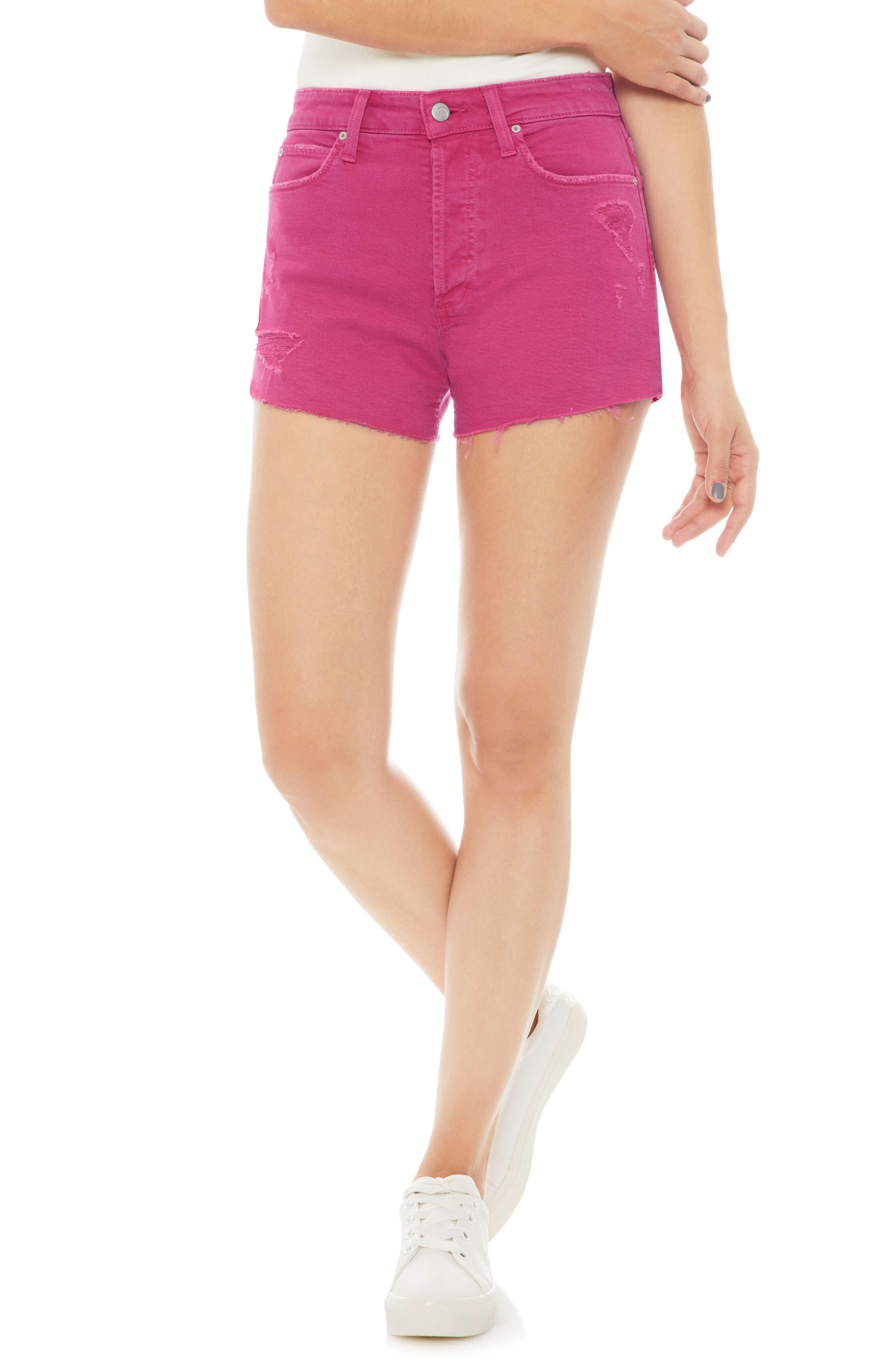Smith High Waist Shorts,                             Main thumbnail 1, color,                             670