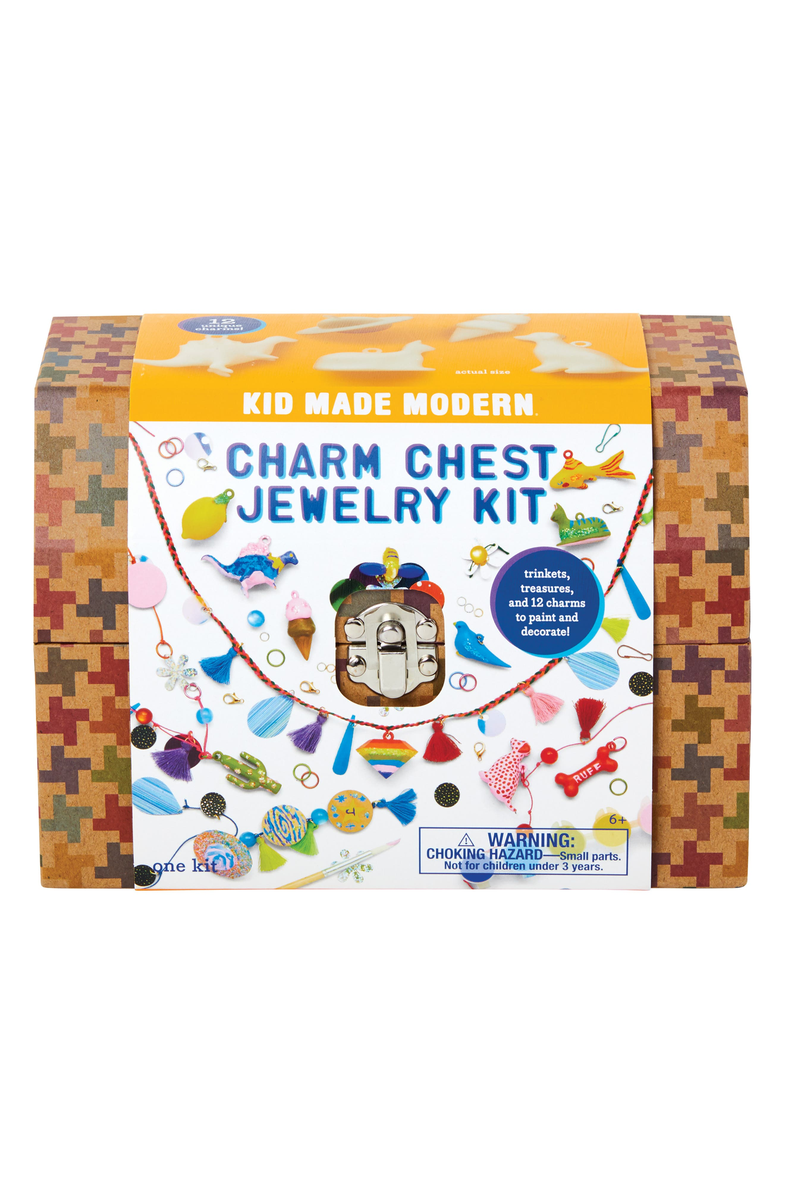 Charm Chest Jewelry Craft Kit,                             Alternate thumbnail 3, color,                             MULTI