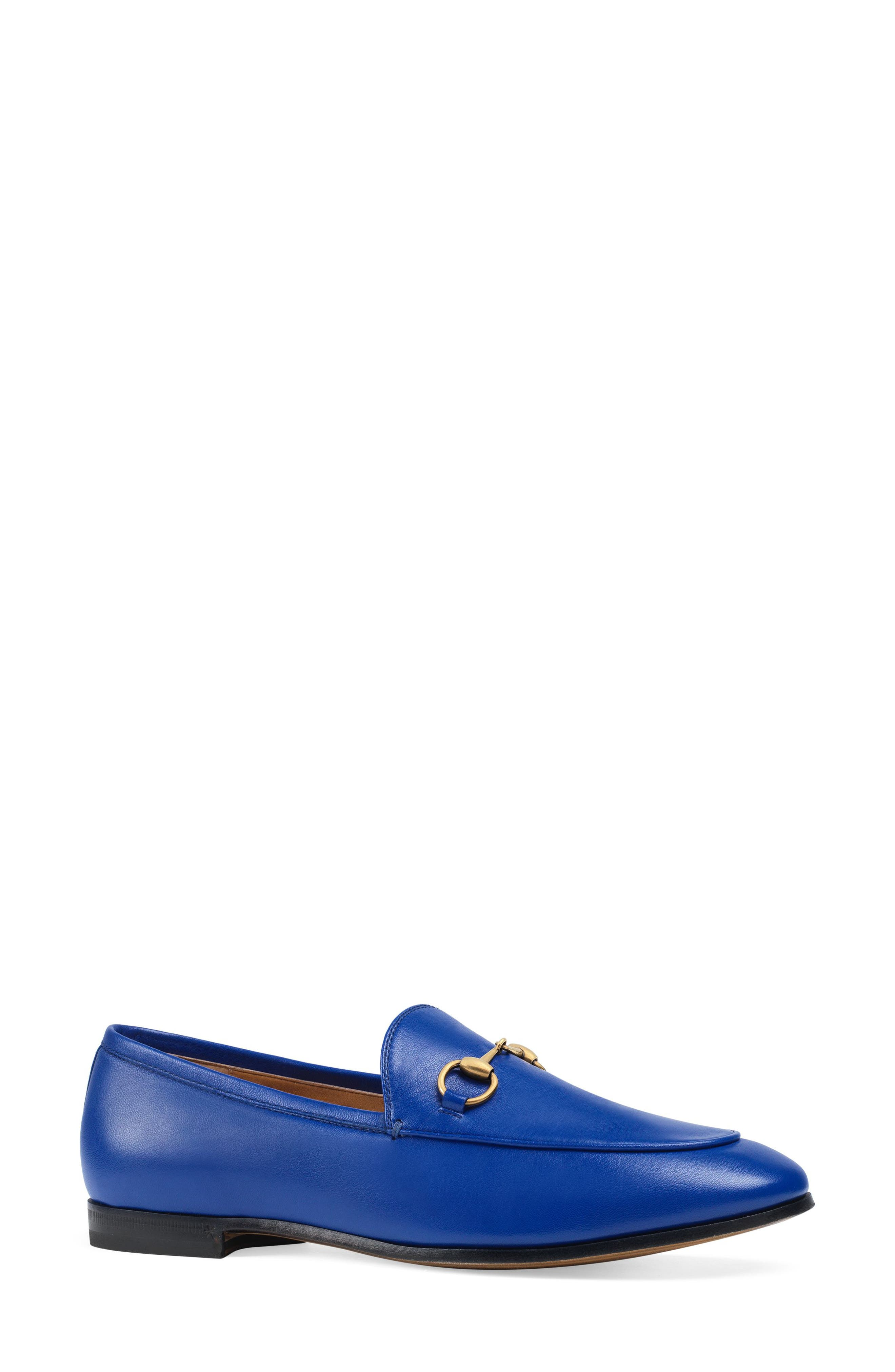 'Jordaan' Loafer,                             Main thumbnail 1, color,                             ELECTRIC BLUE