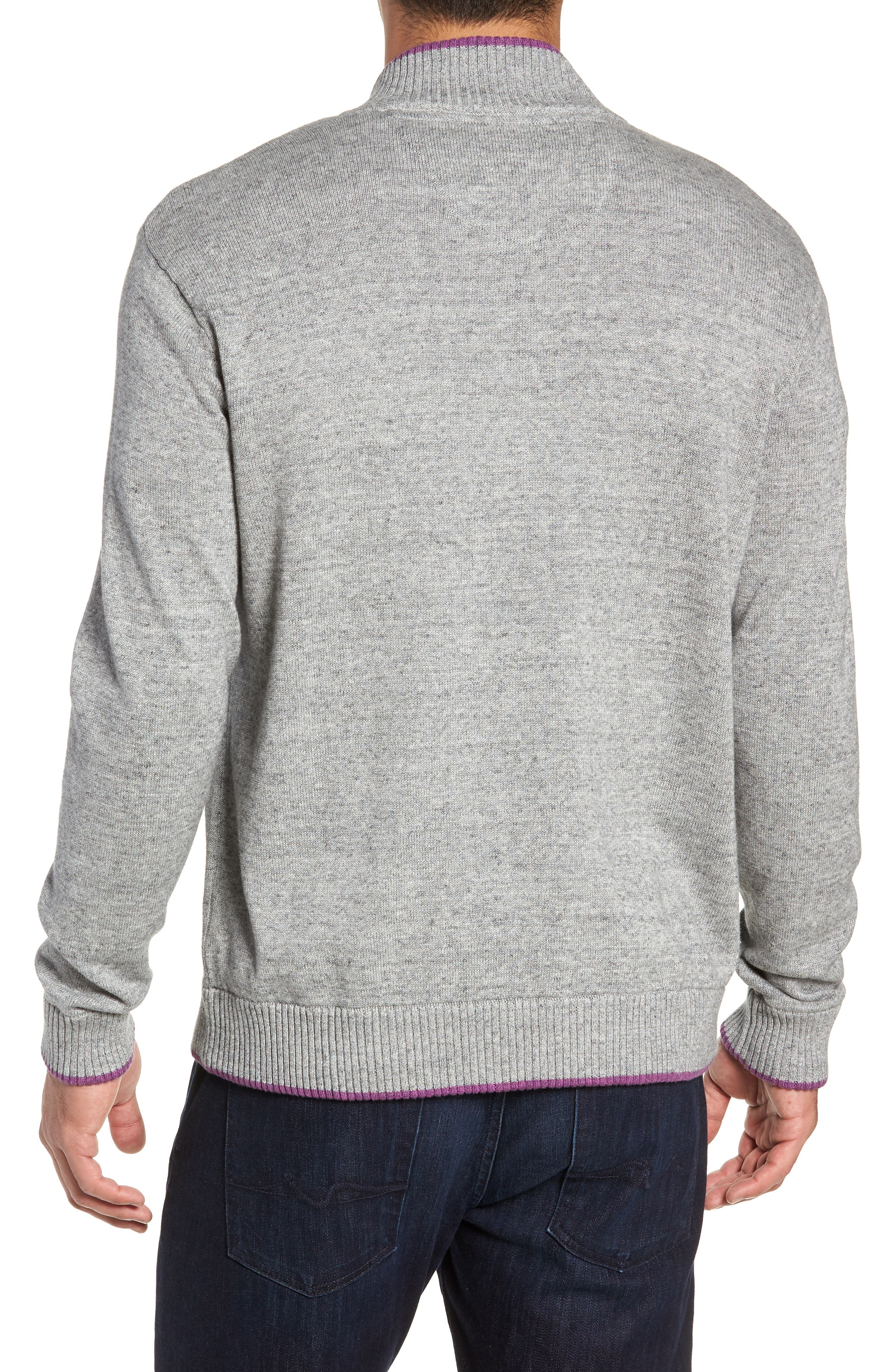 Cavalry Classic Fit Quarter Zip Sweater,                             Alternate thumbnail 2, color,                             032