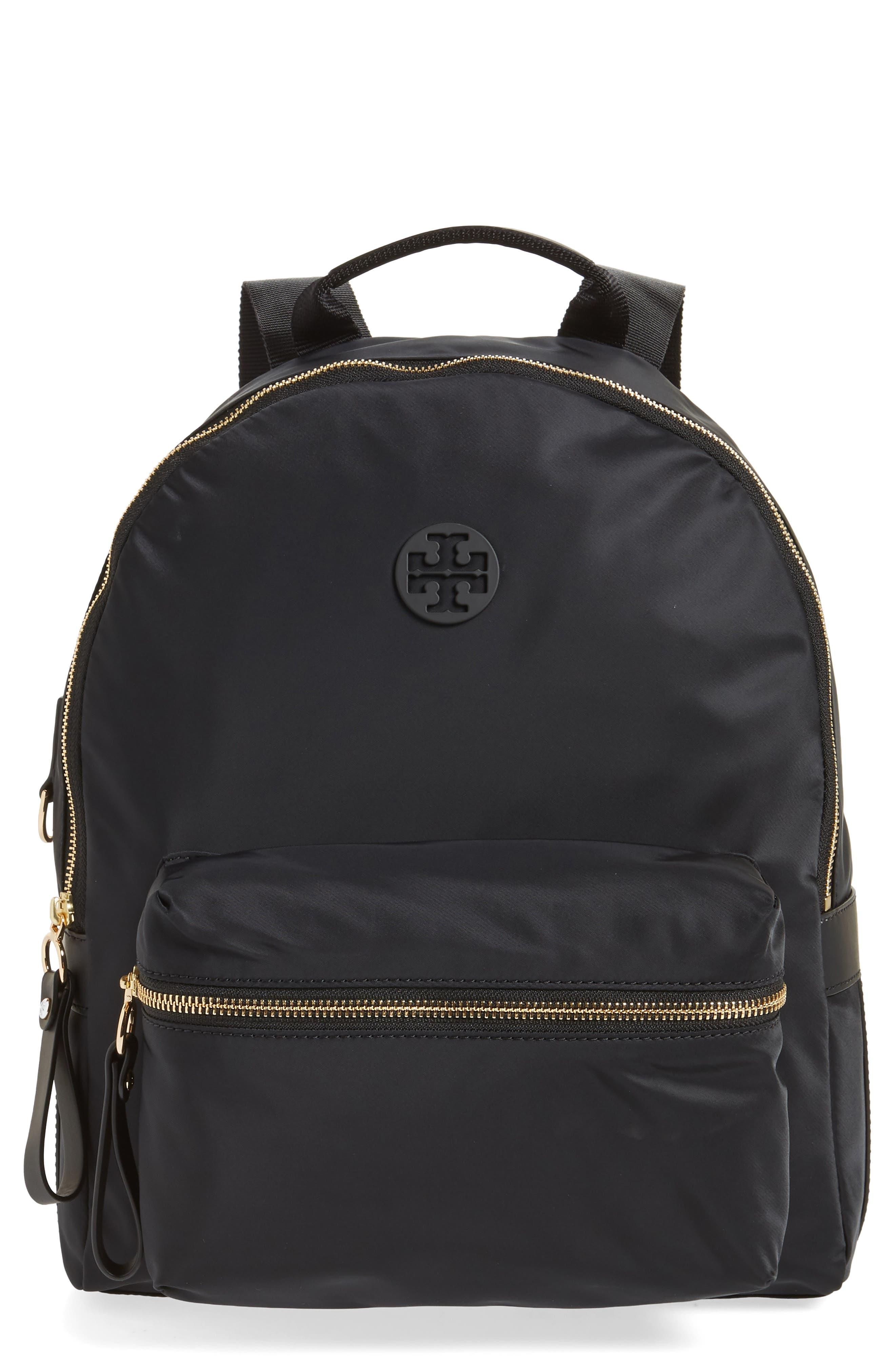 Tilda Nylon Backpack, Main, color, 001