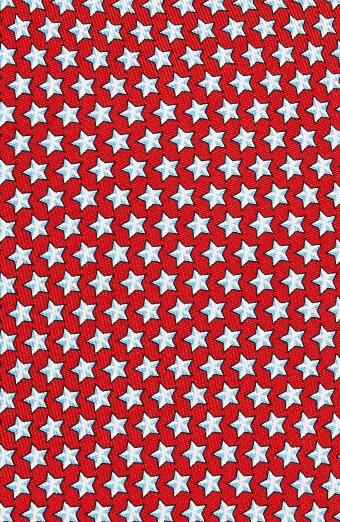 Stars Silk Tie,                             Alternate thumbnail 2, color,                             614