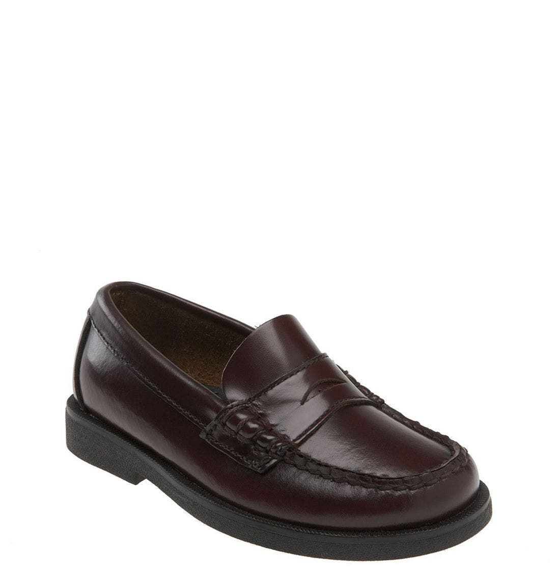 'Colton' Loafer,                             Main thumbnail 1, color,                             BURGUNDY