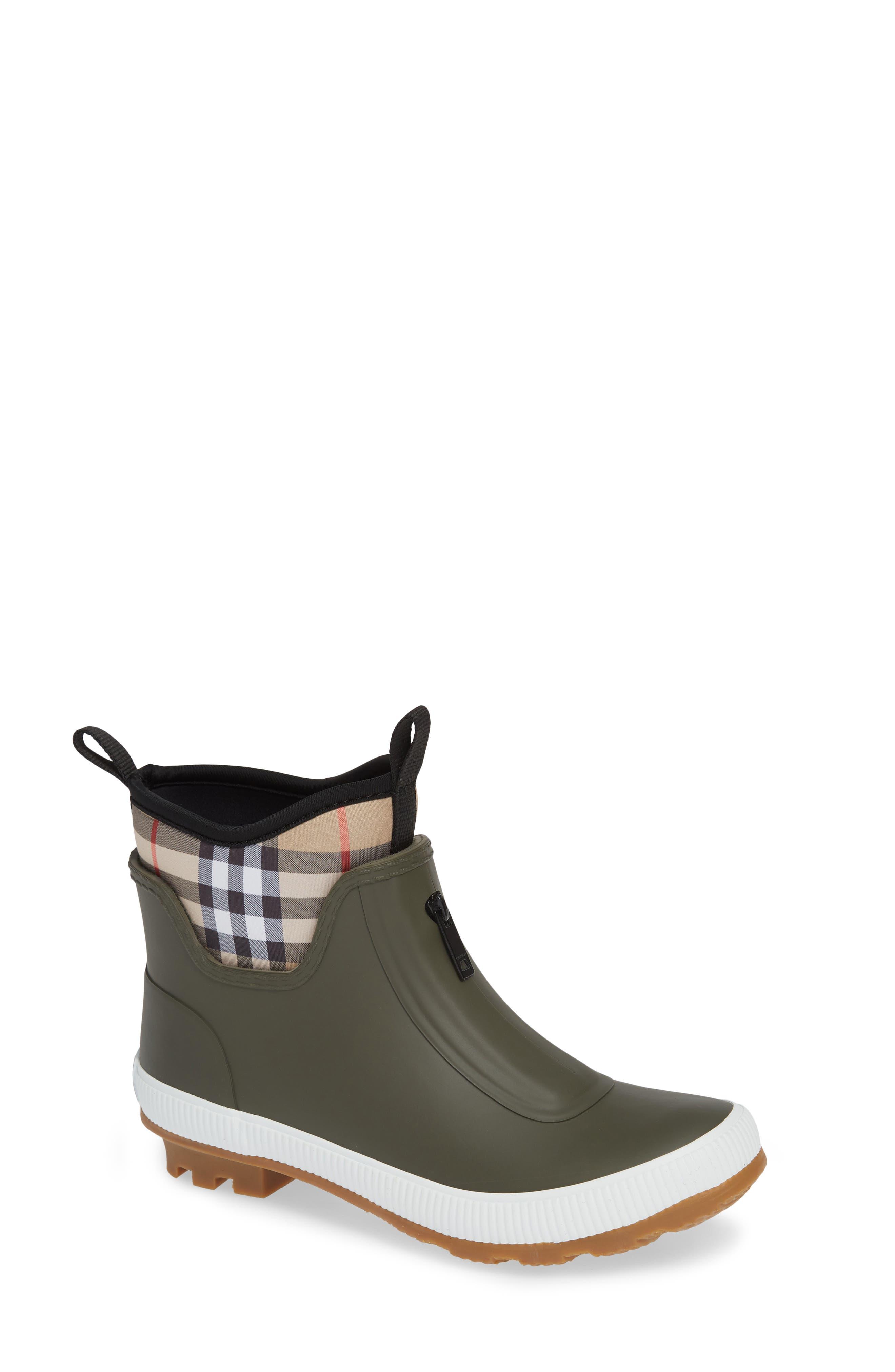 Toddler Burberry Flinton Rain Boot Size 13US  31EU  Blue