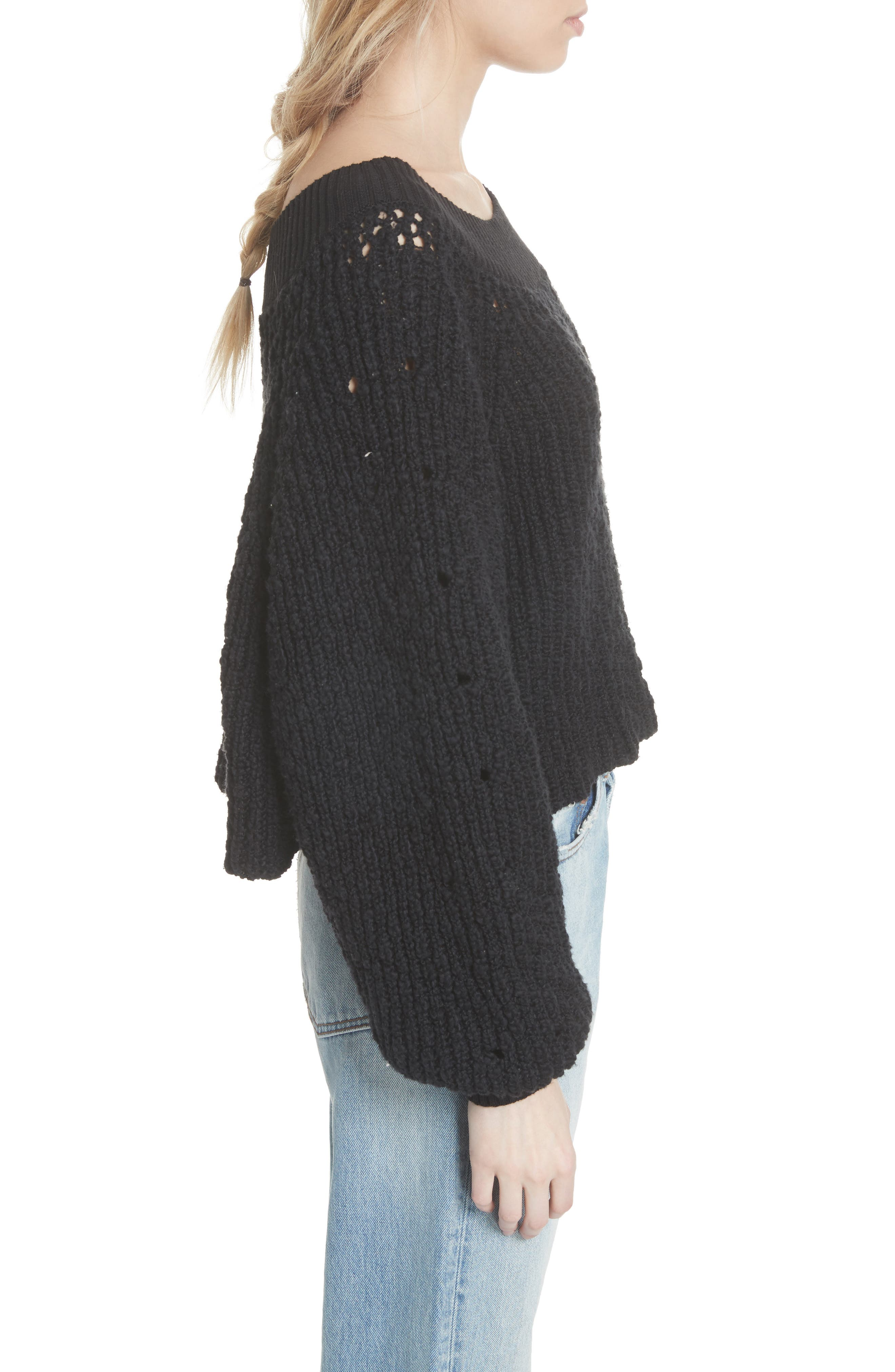 Pandora's Boatneck Sweater,                             Alternate thumbnail 9, color,