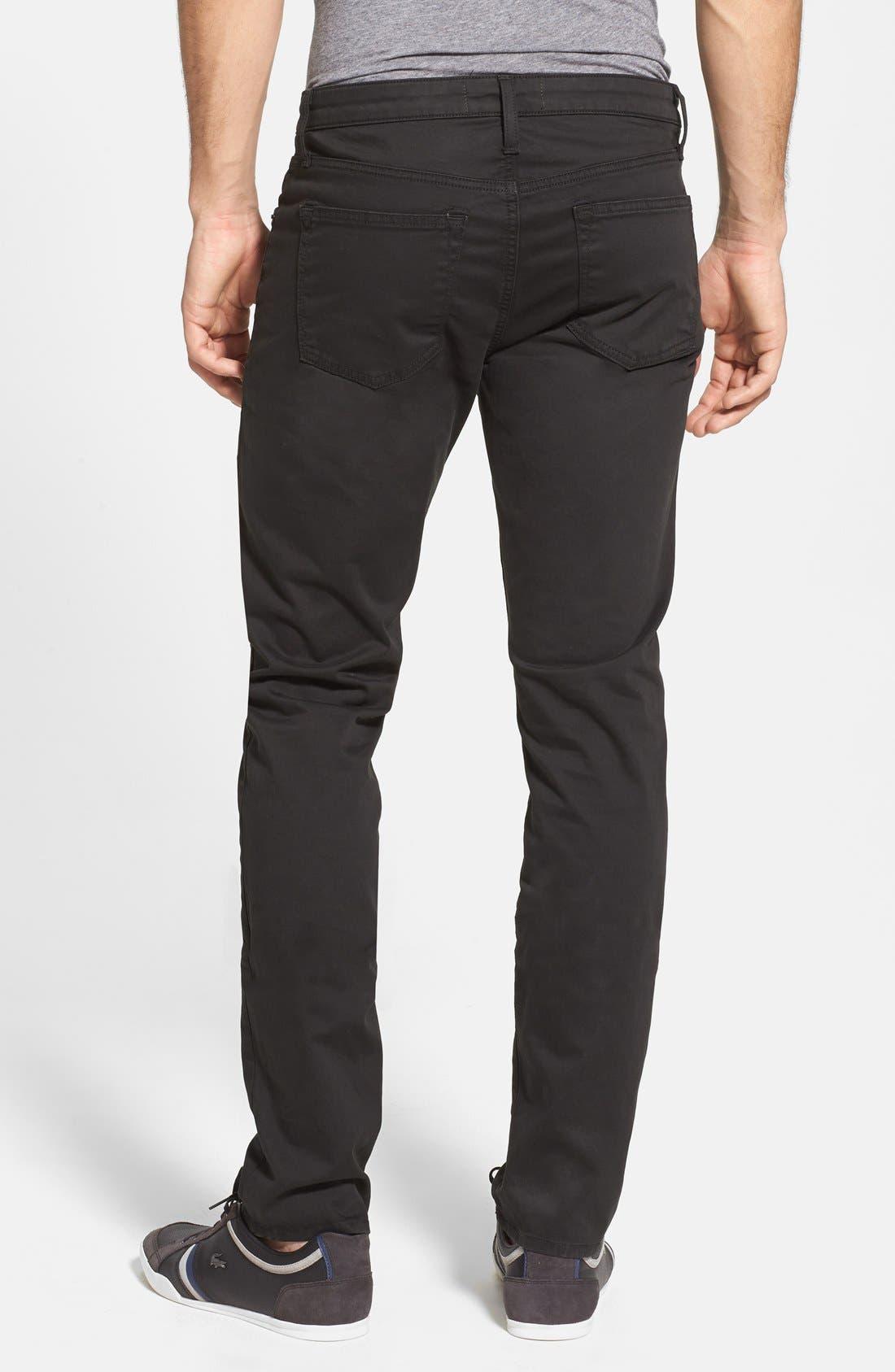 'Kane' Slim Fit Cotton Twill Pants,                             Alternate thumbnail 53, color,
