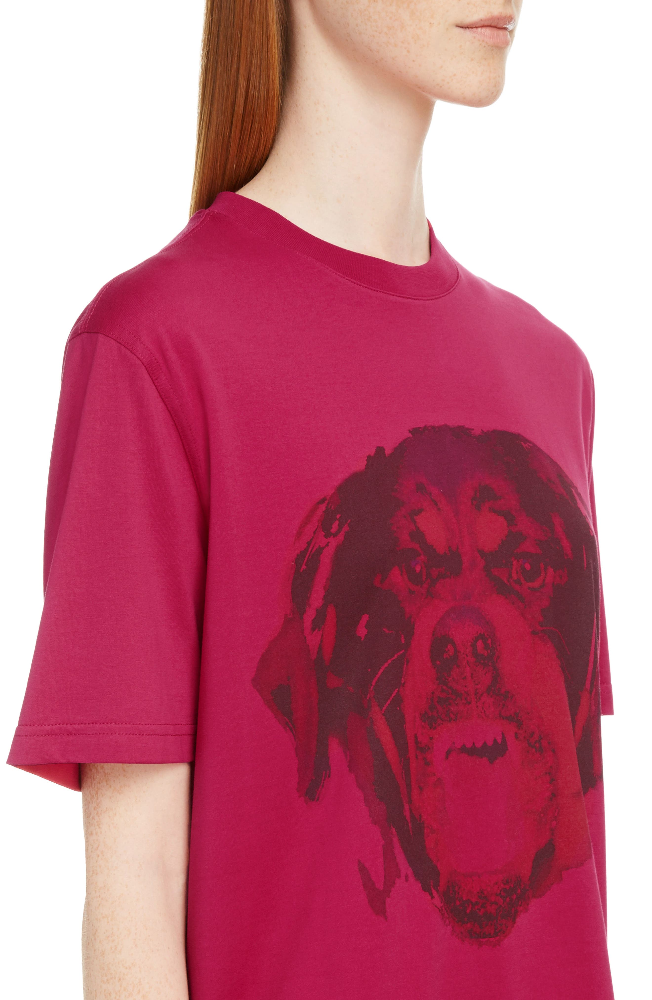 Rottweiler Print Tee,                             Alternate thumbnail 4, color,                             675