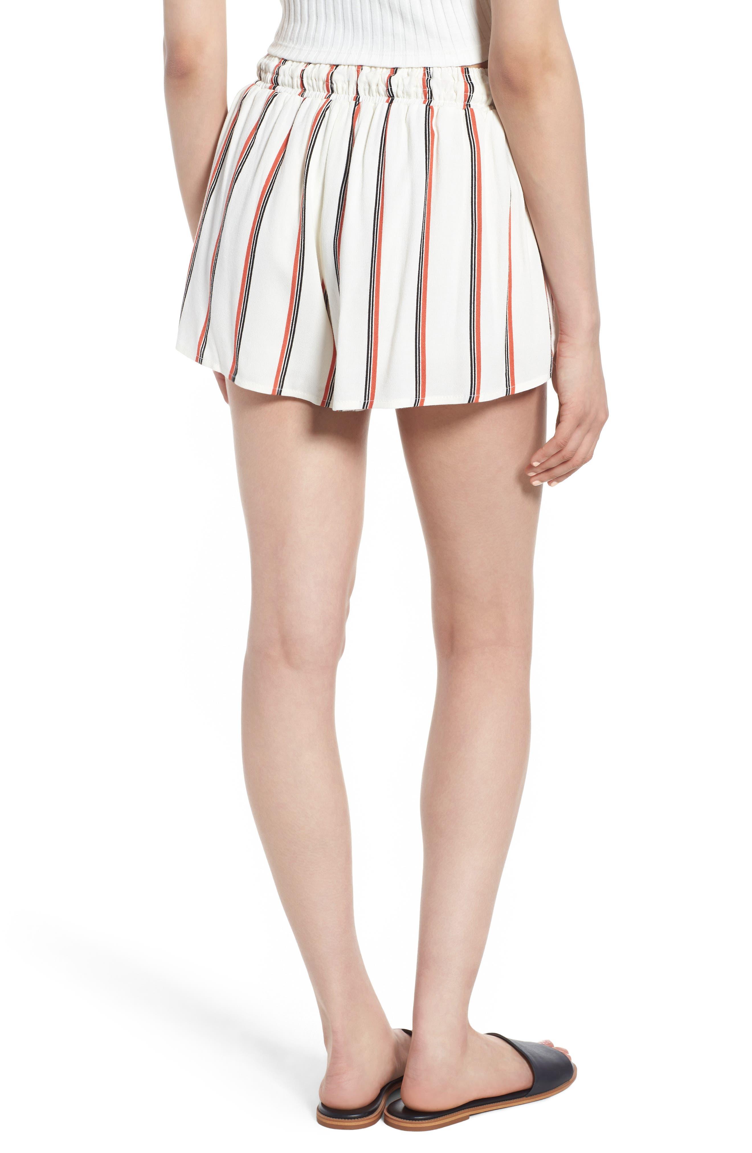 Juniper Stripe Shorts,                             Alternate thumbnail 4, color,