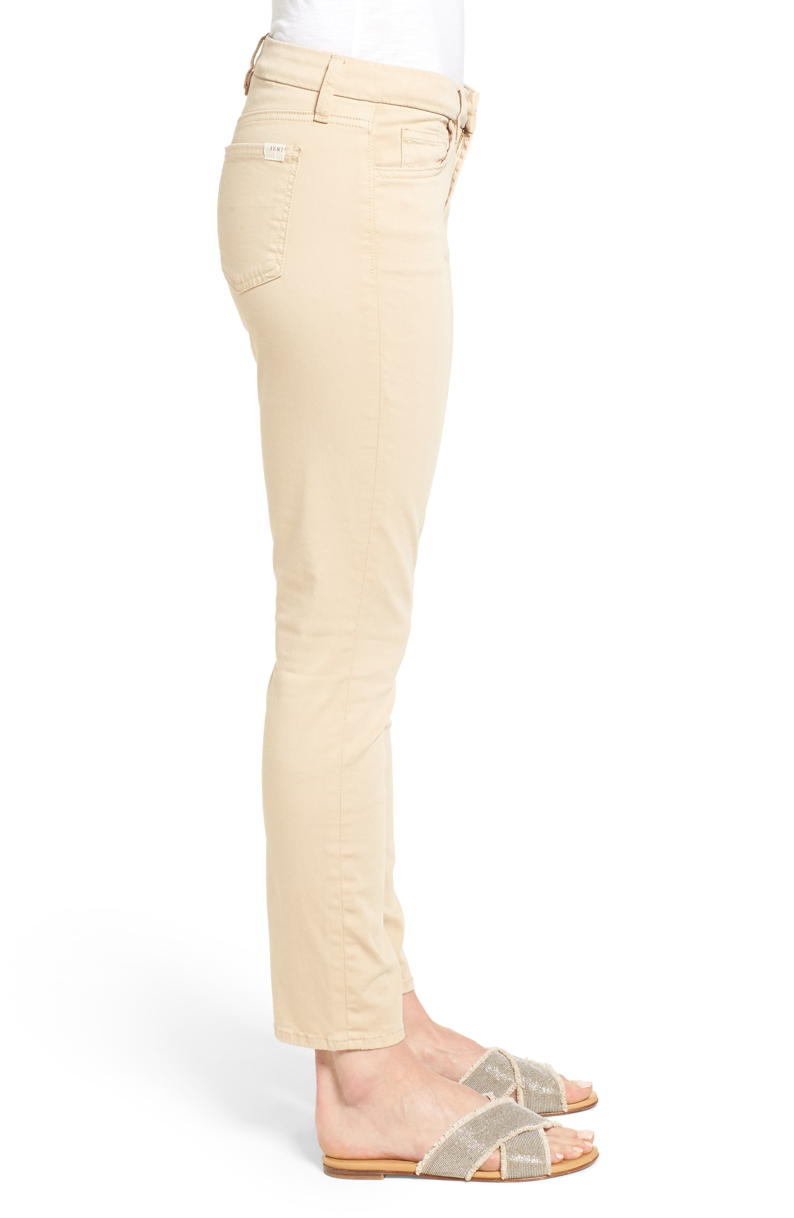 Colored Stretch Ankle Skinny Jeans,                             Alternate thumbnail 3, color,                             251