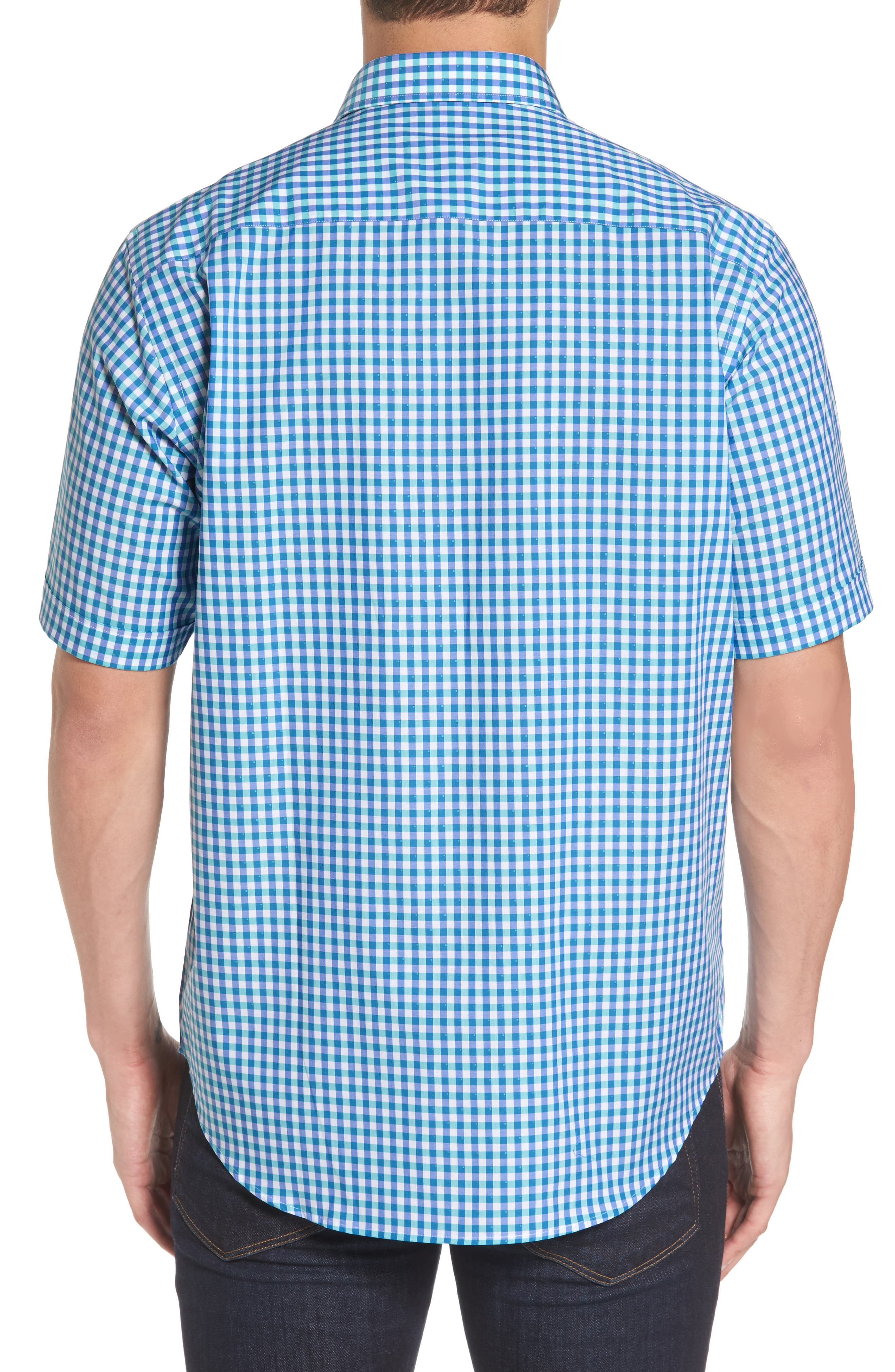 Classic Fit Check Sport Shirt,                             Alternate thumbnail 2, color,                             420
