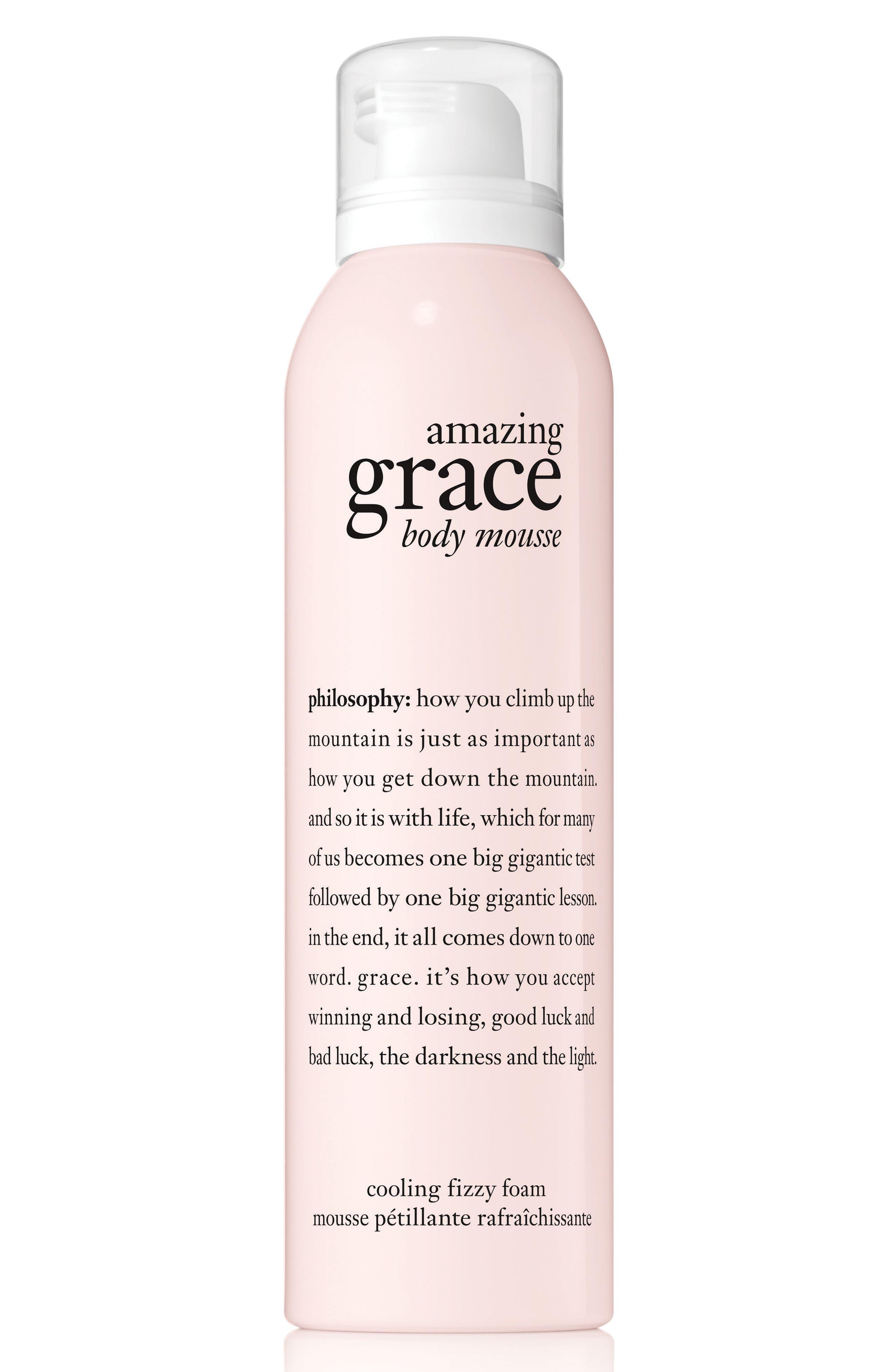 amazing grace body mousse,                         Main,                         color, NO COLOR