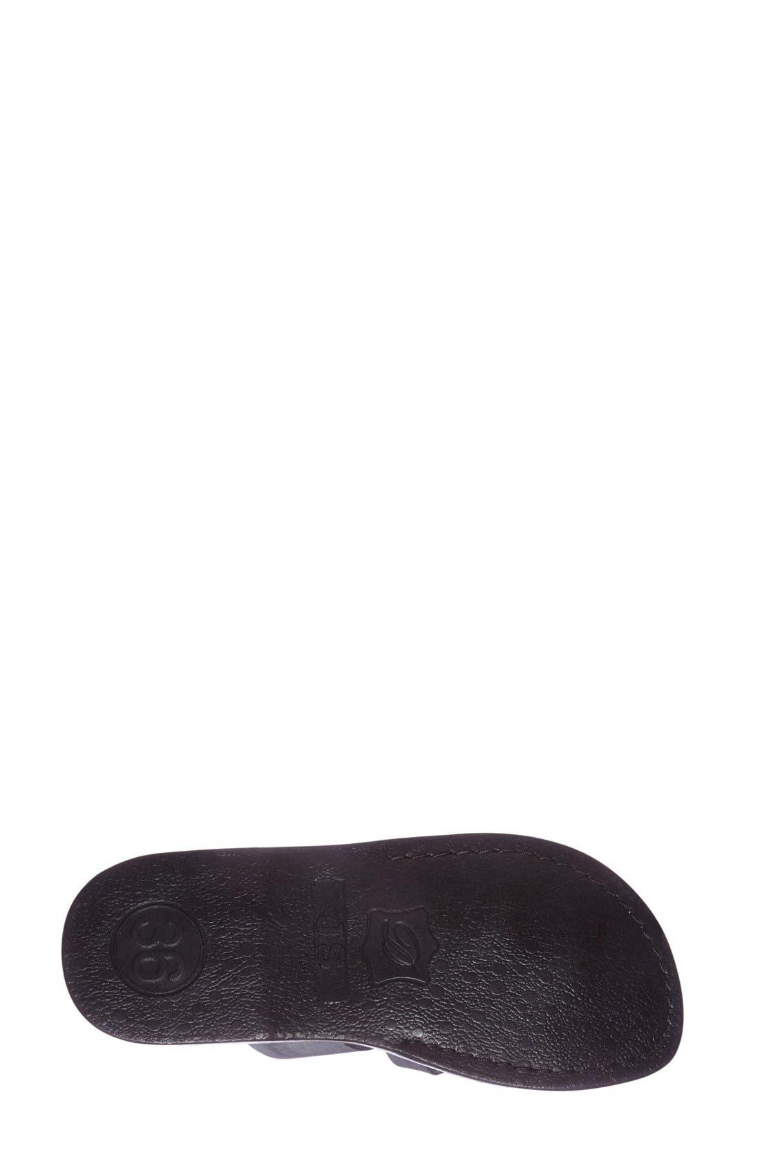 'The Good Shepard' Leather Sandal,                             Alternate thumbnail 27, color,