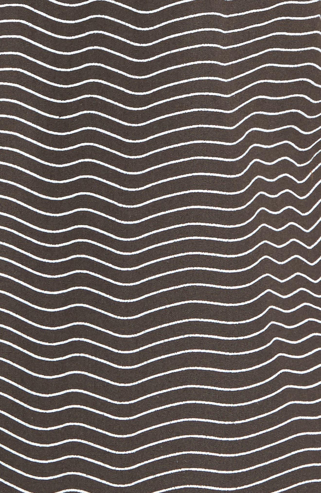 Heat Wave Stripe Shirt,                             Alternate thumbnail 5, color,                             002