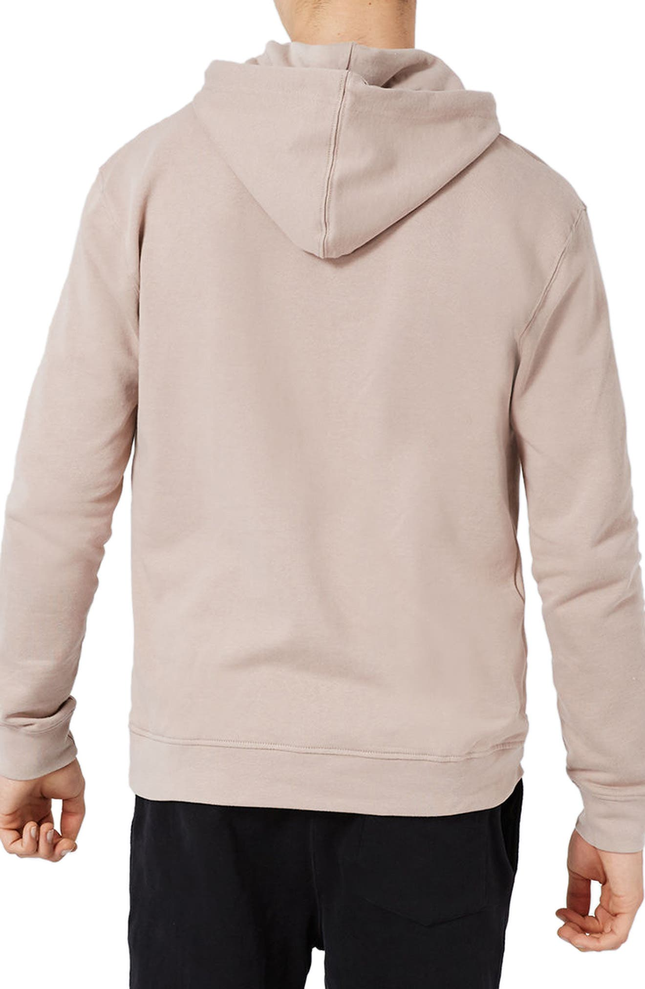 Classic Fit Hoodie,                             Alternate thumbnail 5, color,