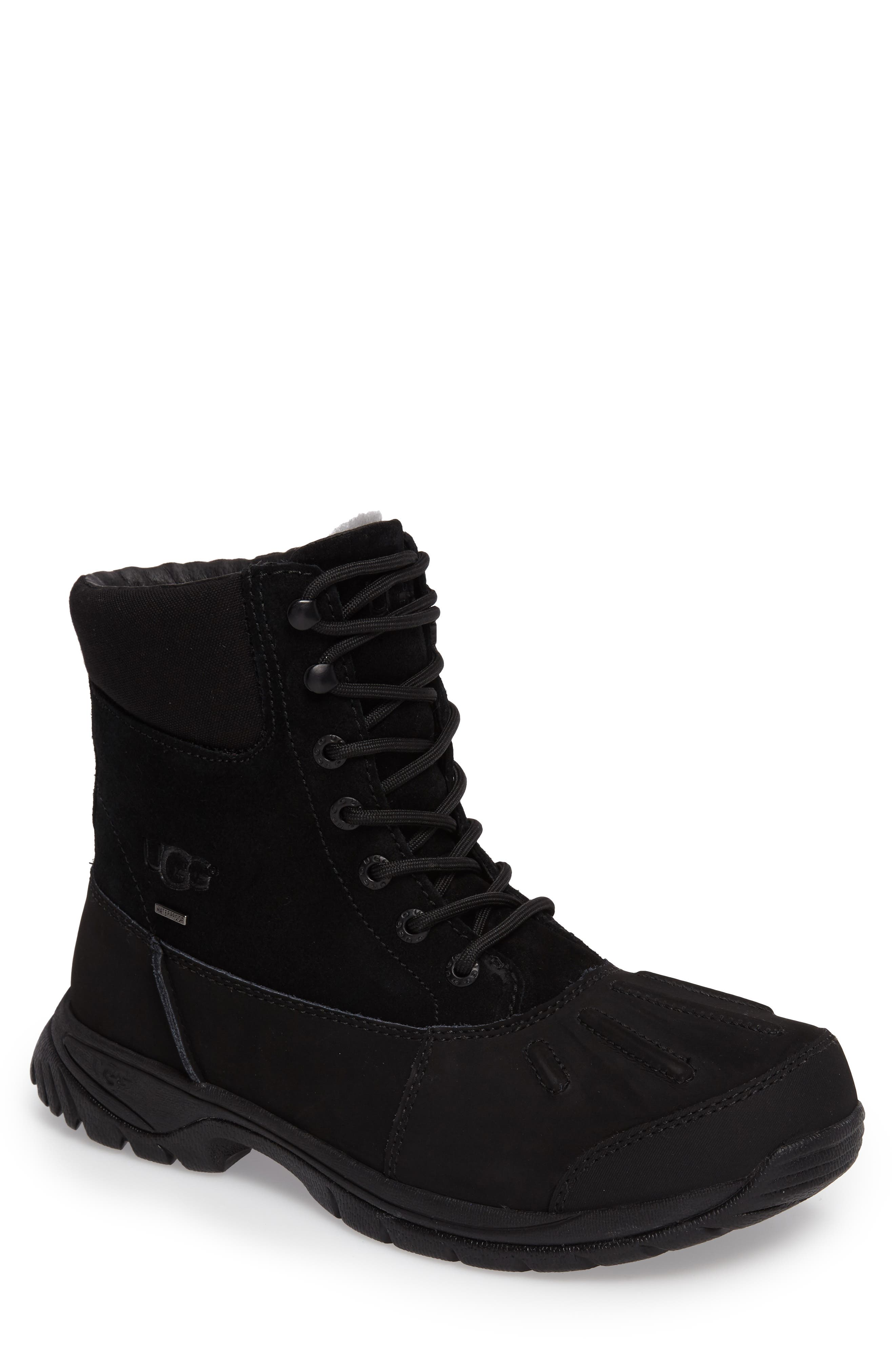 'Metcalf' Snow Boot,                             Main thumbnail 1, color,                             001