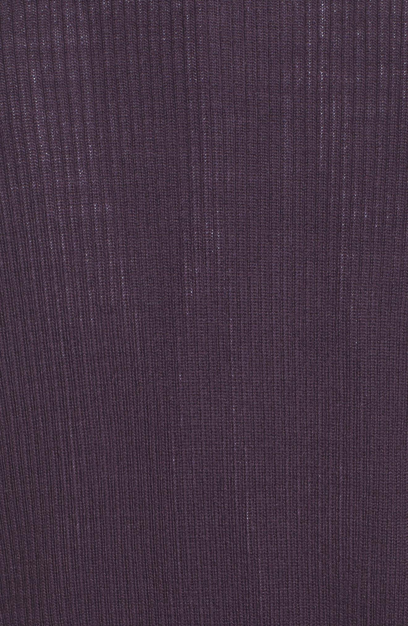 Rib Knit Wool Blend Cardigan,                             Alternate thumbnail 94, color,
