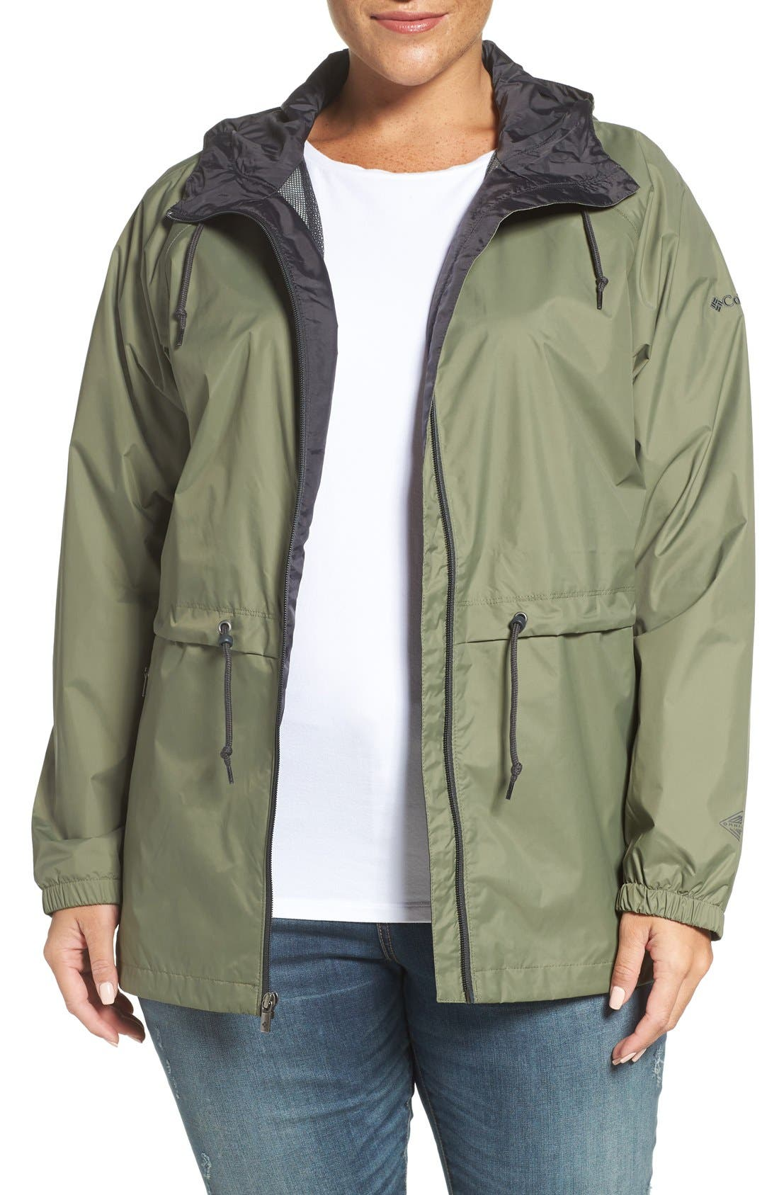 'Arcadia' Hooded Waterproof Casual Jacket,                             Main thumbnail 8, color,