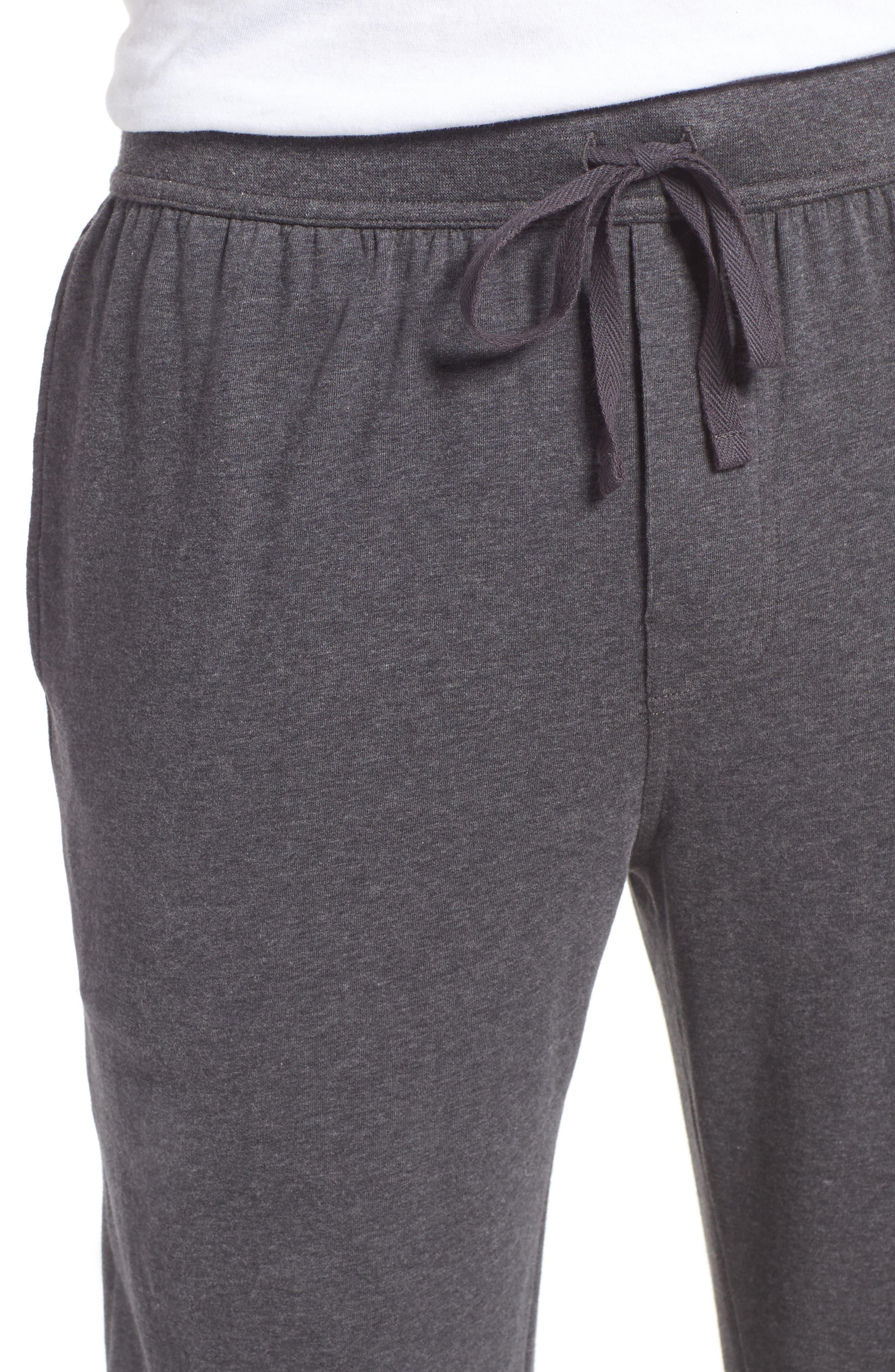 Stretch Cotton Lounge Pants,                             Alternate thumbnail 7, color,
