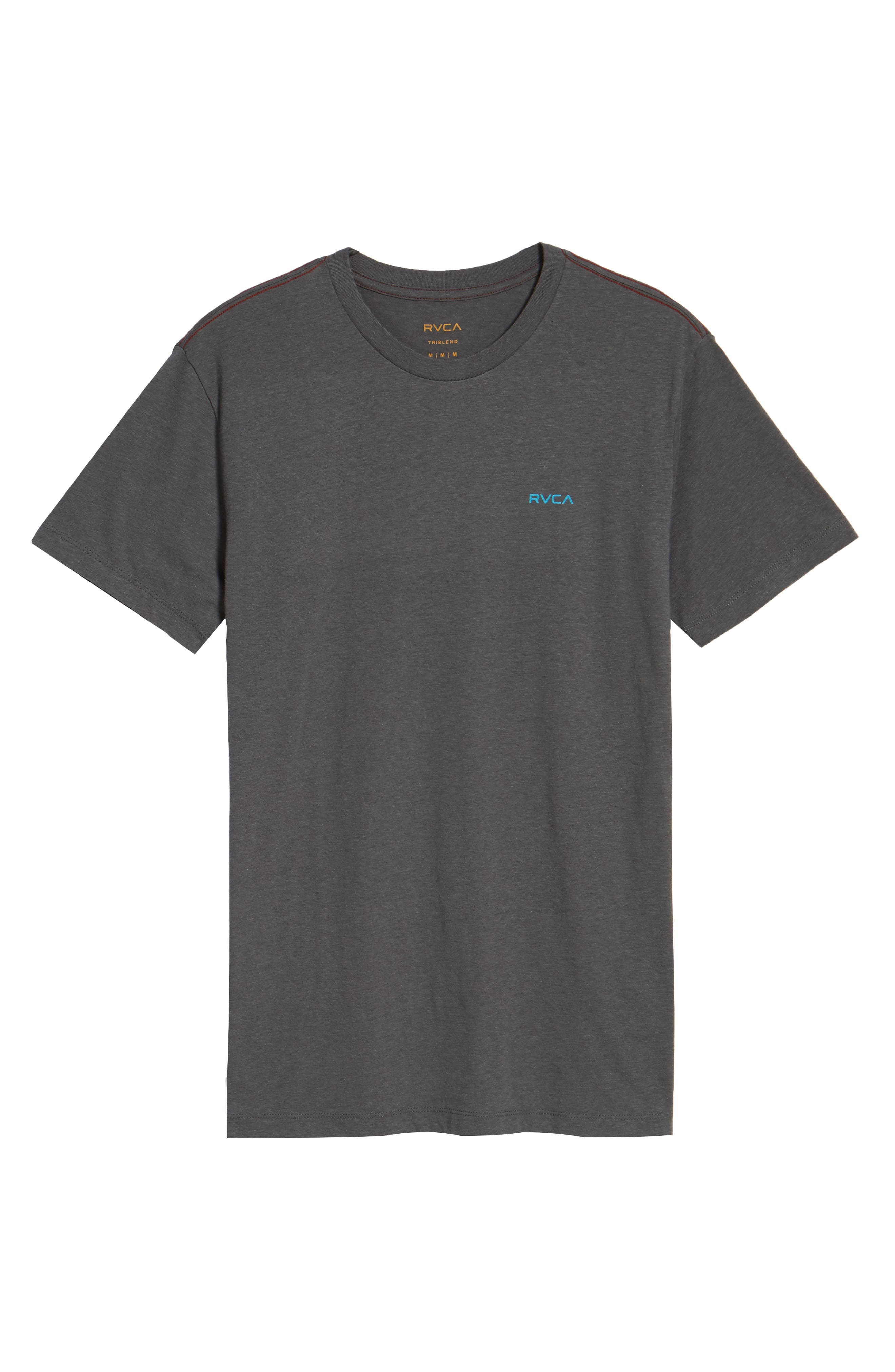 Small RVCA Chest Graphic T-Shirt,                             Alternate thumbnail 6, color,                             076