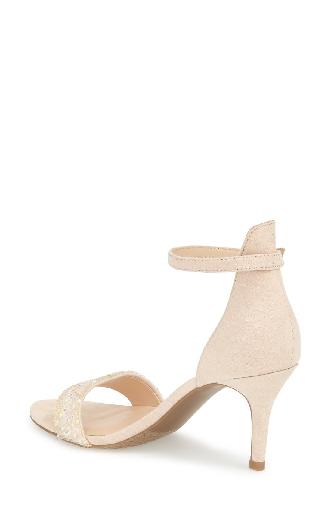 'Luminate' Open Toe Dress Sandal,                             Alternate thumbnail 77, color,
