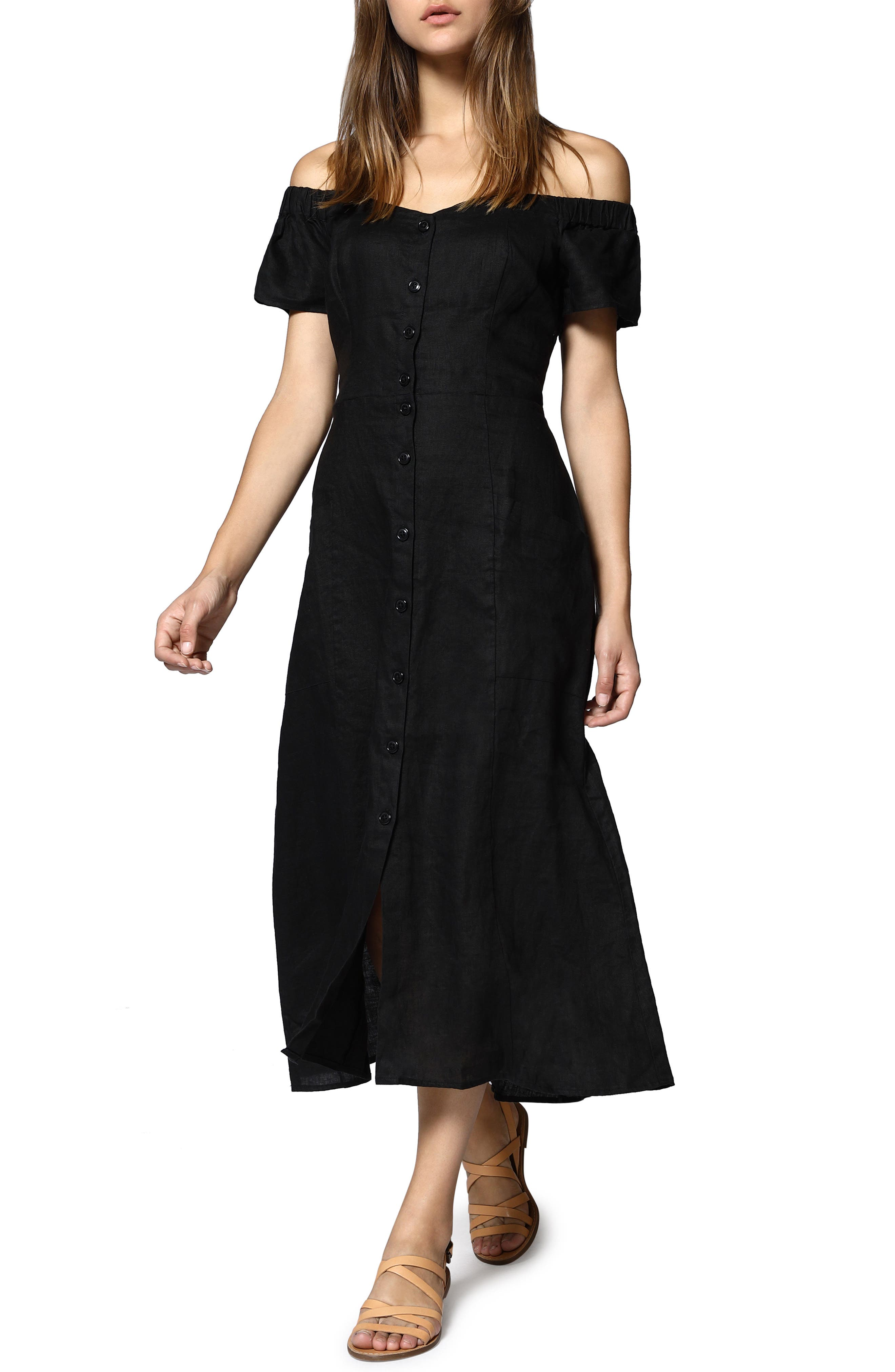 Meet Me at the Sunset Midi Dress,                         Main,                         color, 001